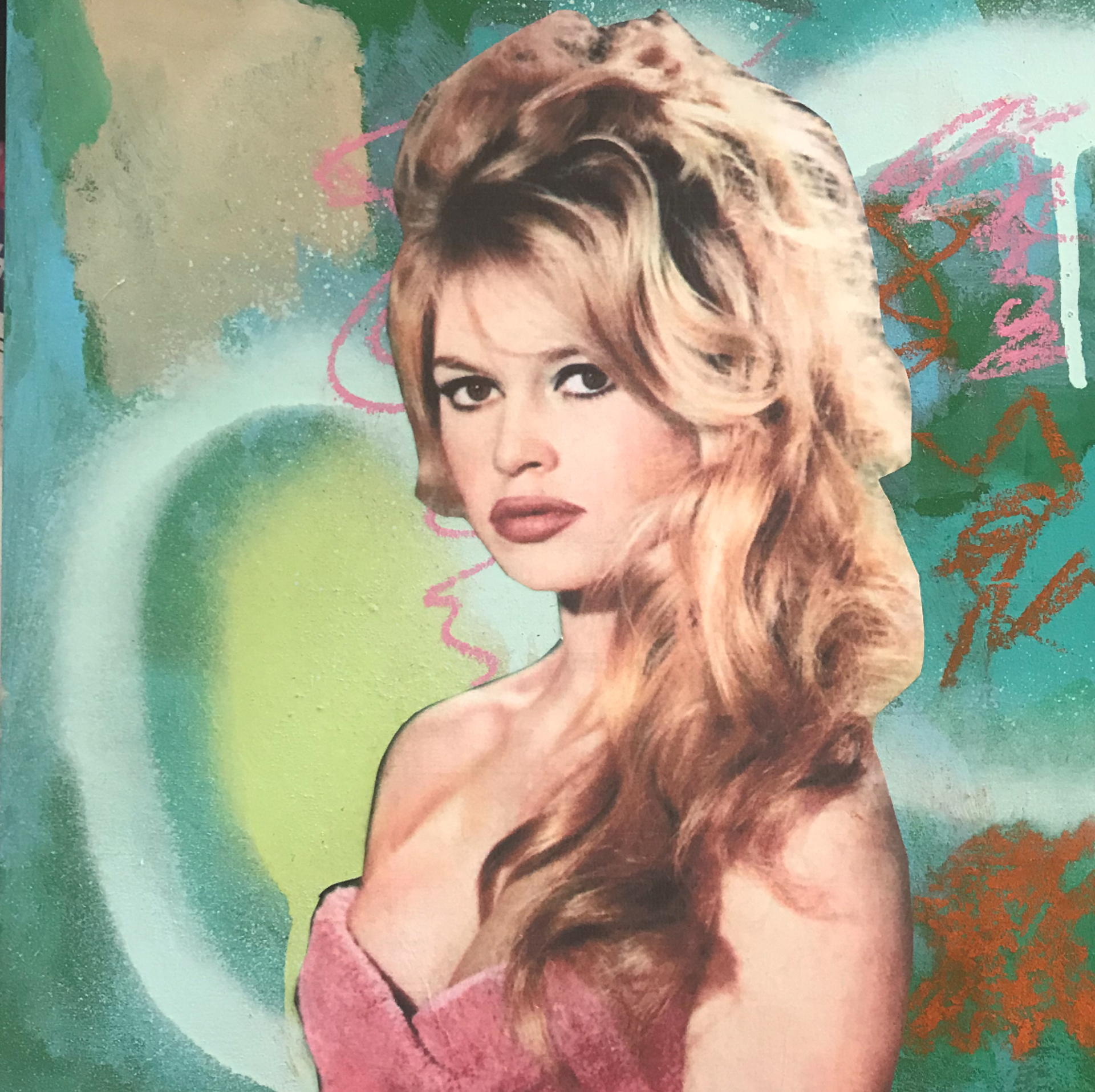 Brigitte Bardot -Part of Icons Triptych  by Andi M