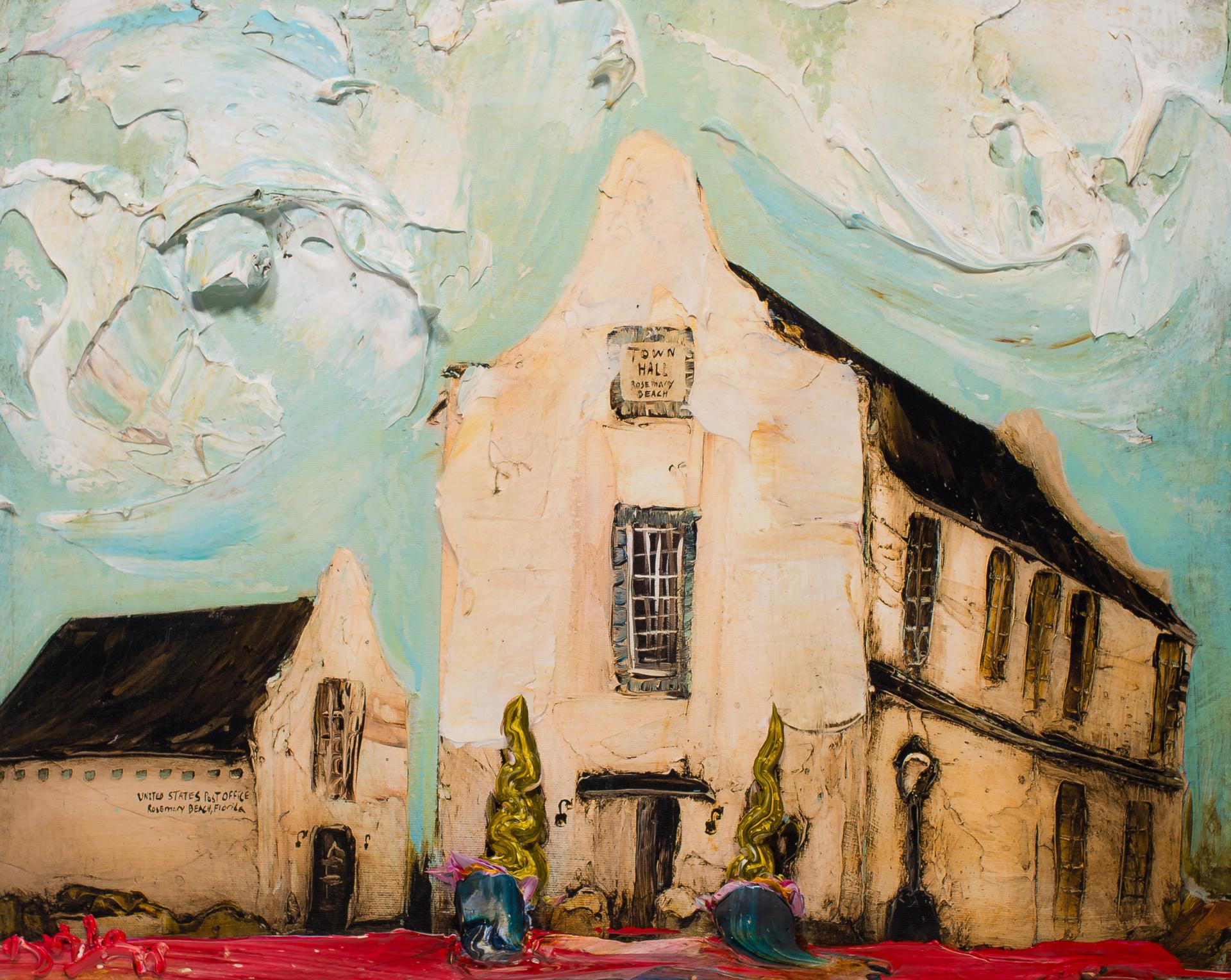 ROSEMARY BEACH TOWN HALL by JUSTIN GAFFREY
