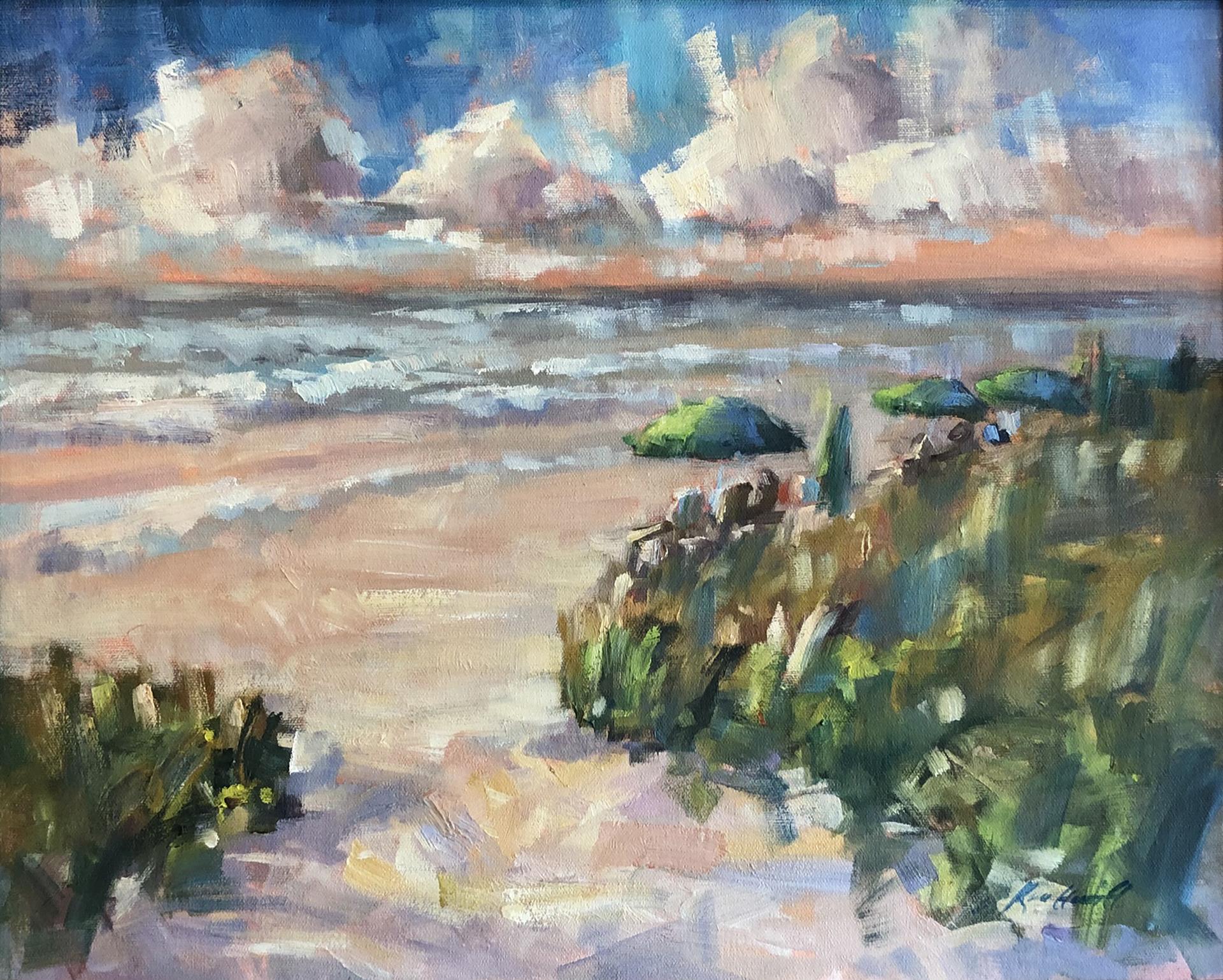 Wild Days at the Beach by Karen Hewitt Hagan