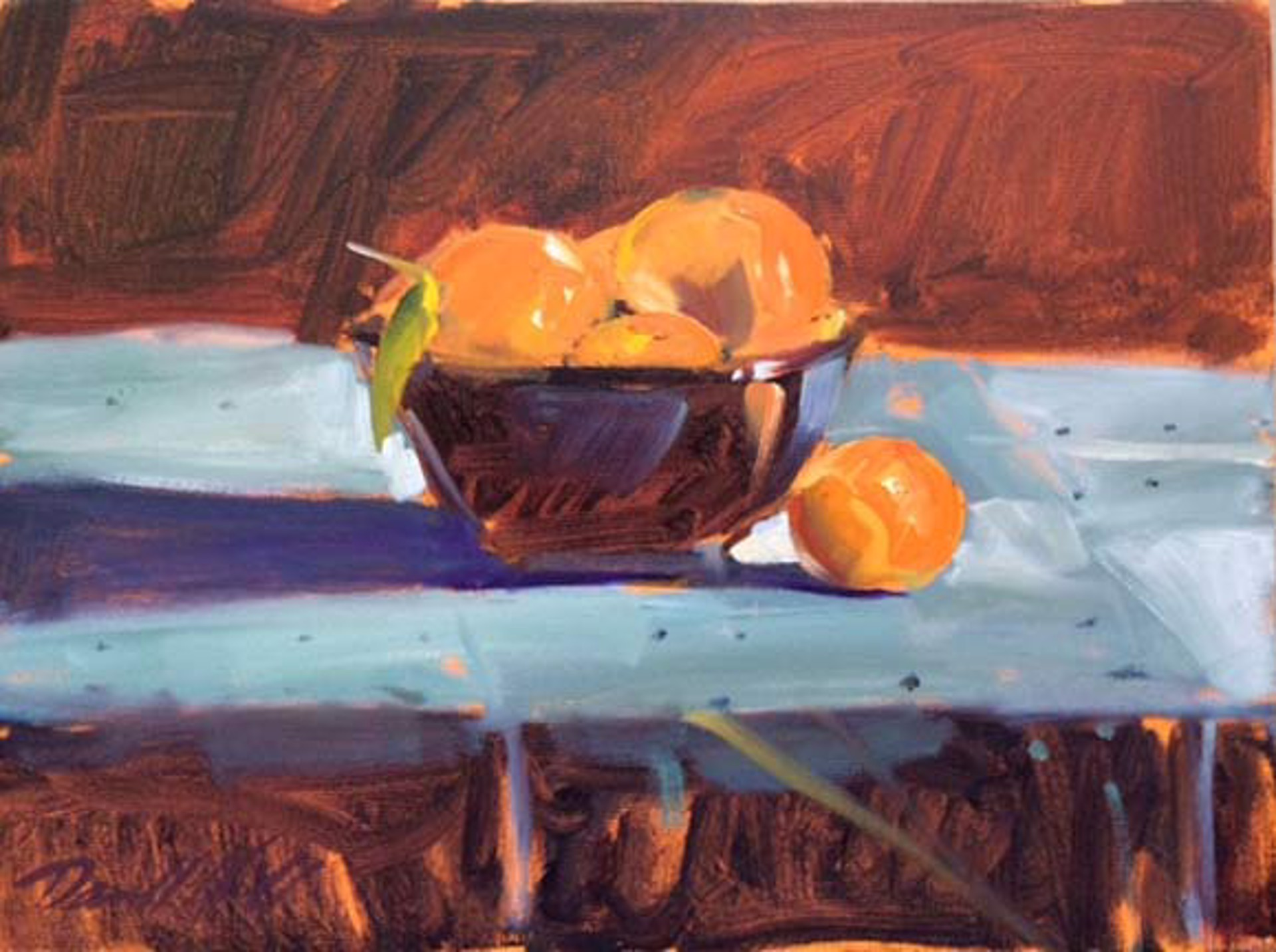 Oranges by Darrell Hill