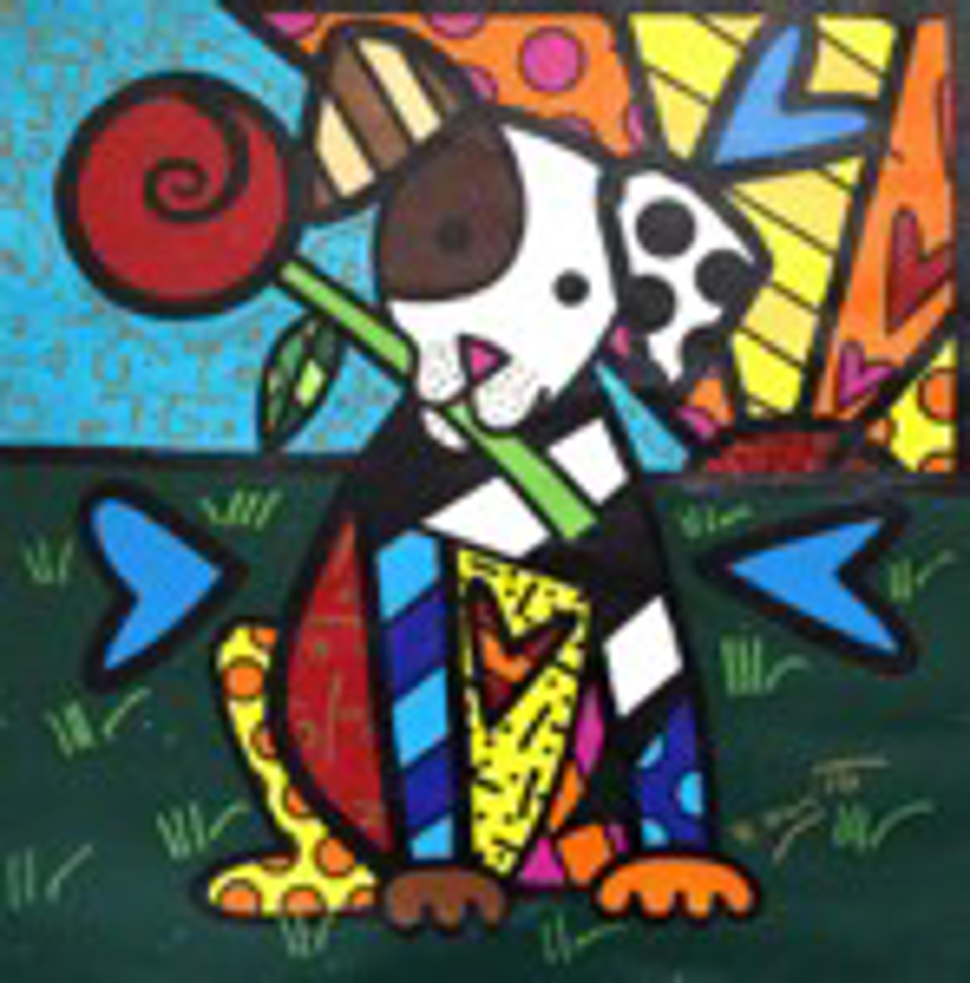 PUPPY LOVE by Romero Britto