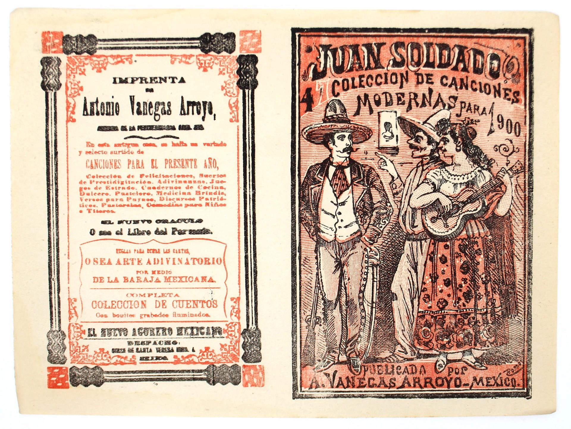Juan Soldado. Coleccion de canciones modernas, No. 47 by José Guadalupe Posada (1852 - 1913)