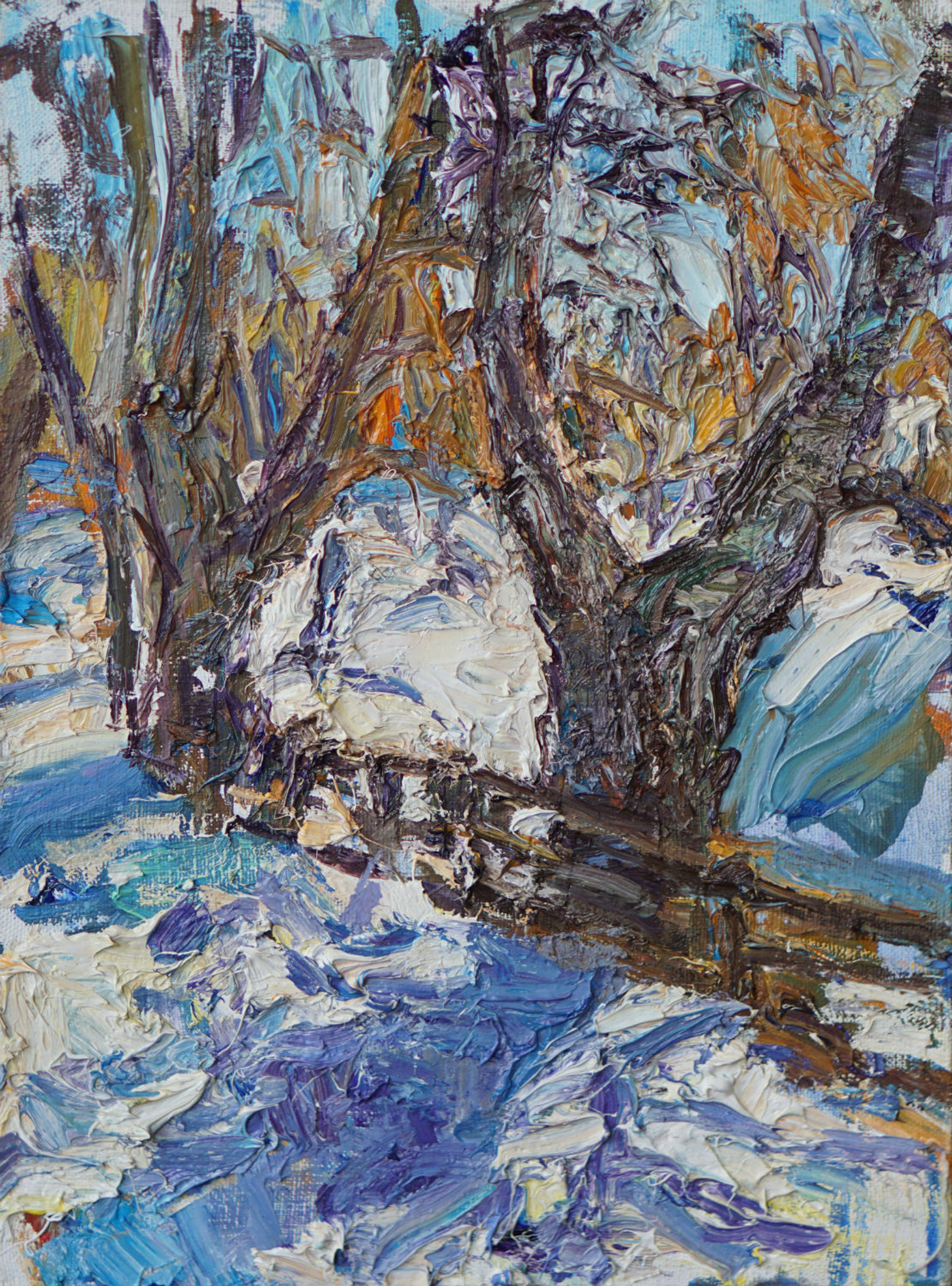 Small Winter Scene by Ulrich Gleiter