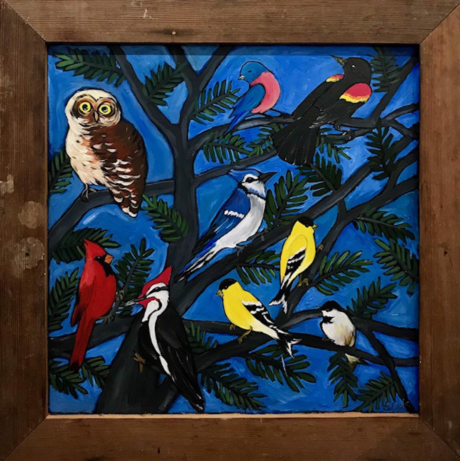 Bird Party by Sherry Cook