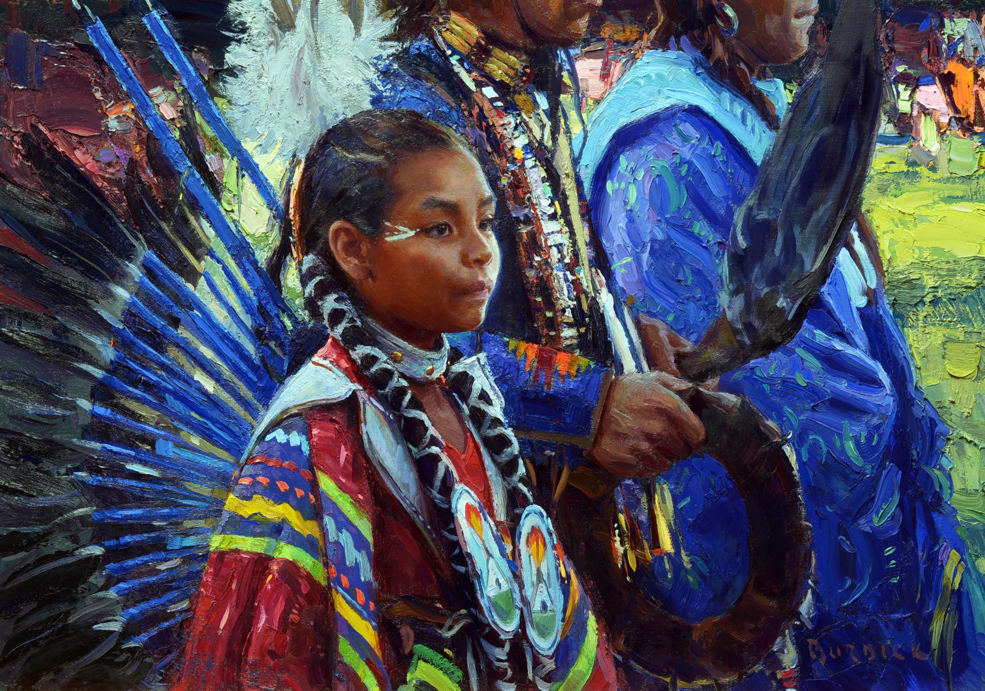 Wings of Blue by Scott Burdick