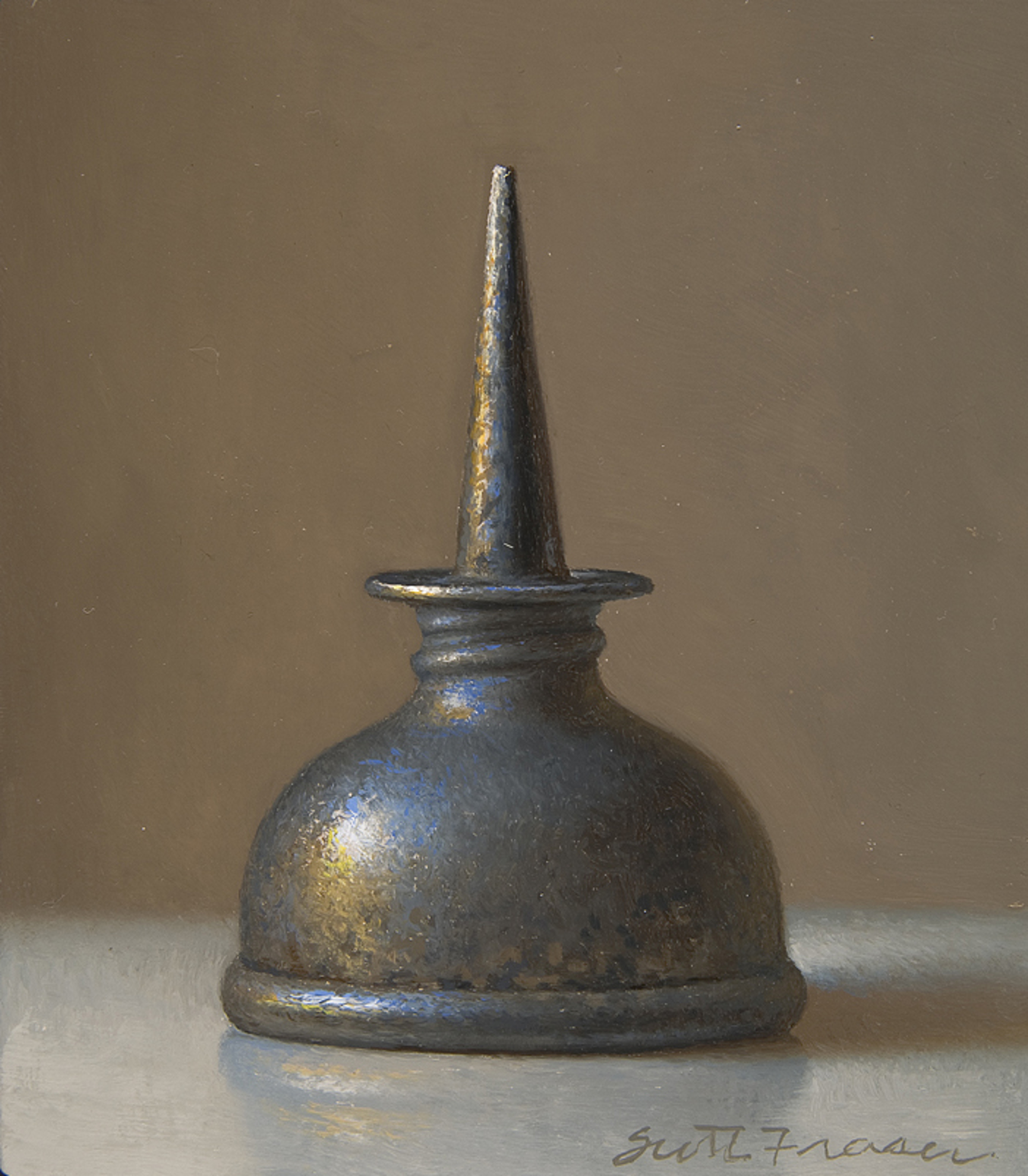 Pewter Oil Can by Scott Fraser