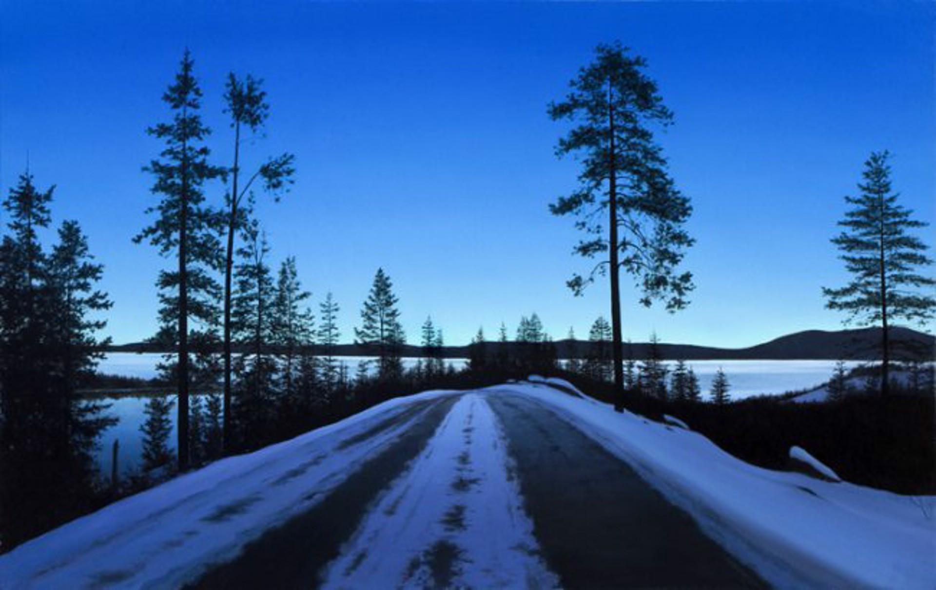 Dawn at Tahoe by Alexander Volkov