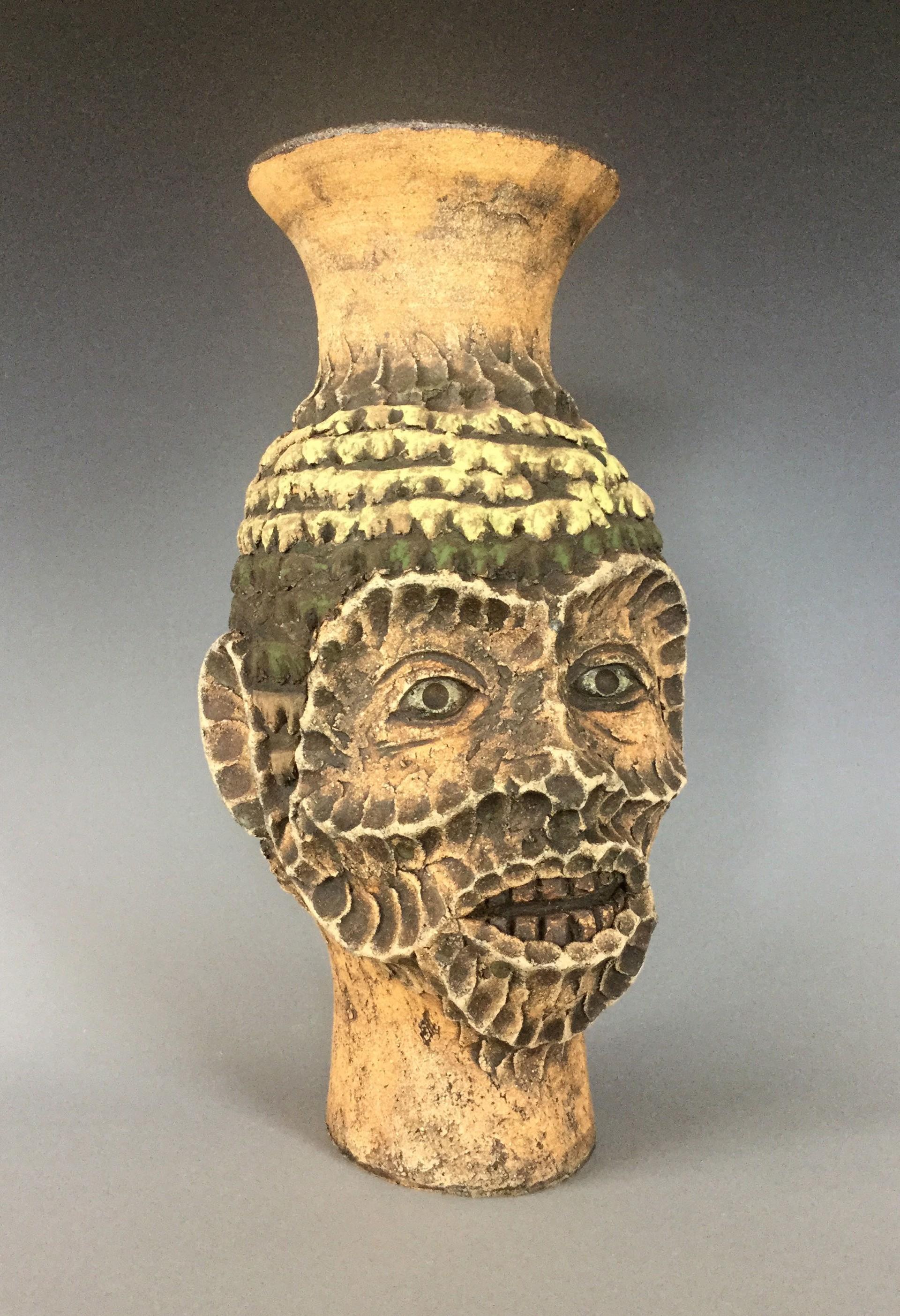 Gargoyle Vase by George Rodriguez