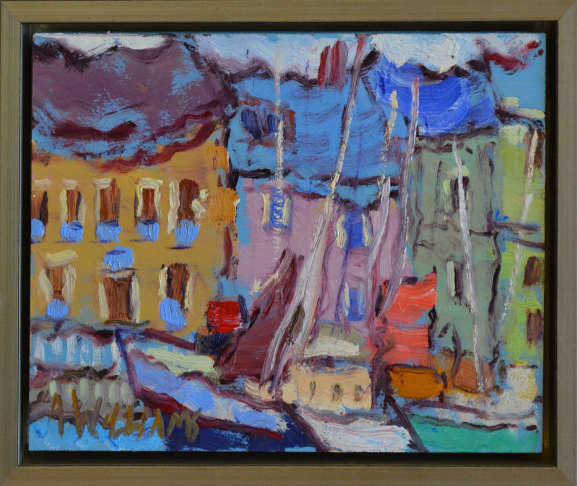 Houses in the Harbor by Alice Williams