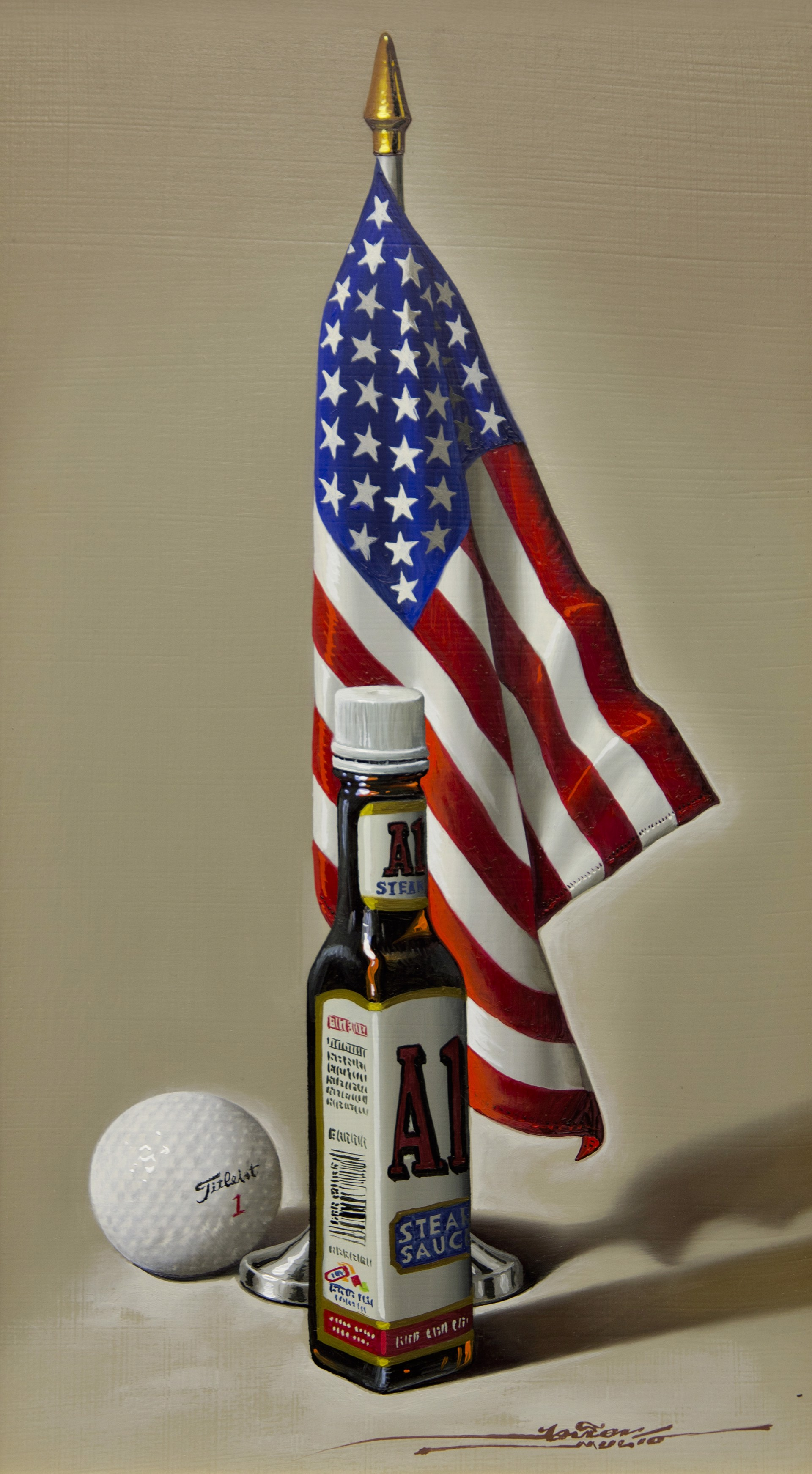 America is A1 by Javier Mulio