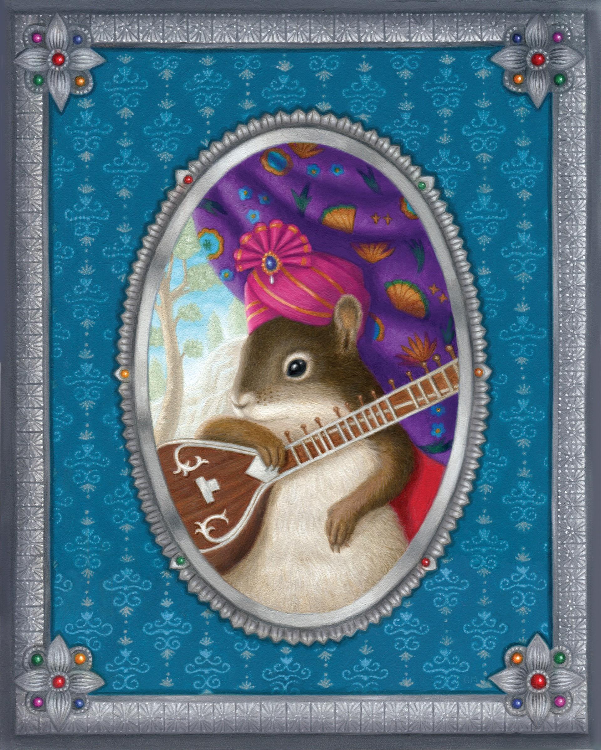 Ravi the Squirrel by Gina Matarazzo
