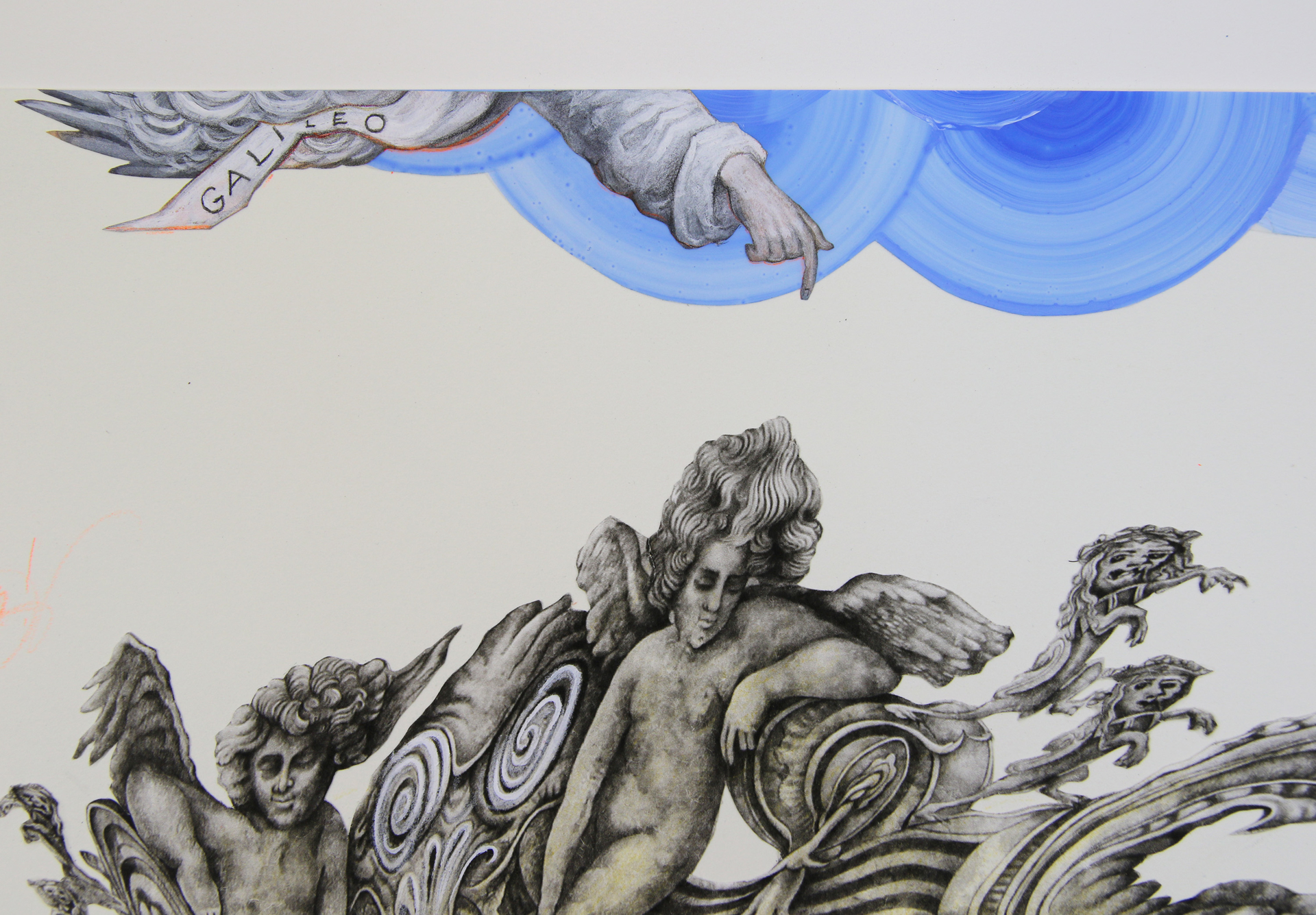 Blind Spots/Galileo by Patricia Bellan-Gillen