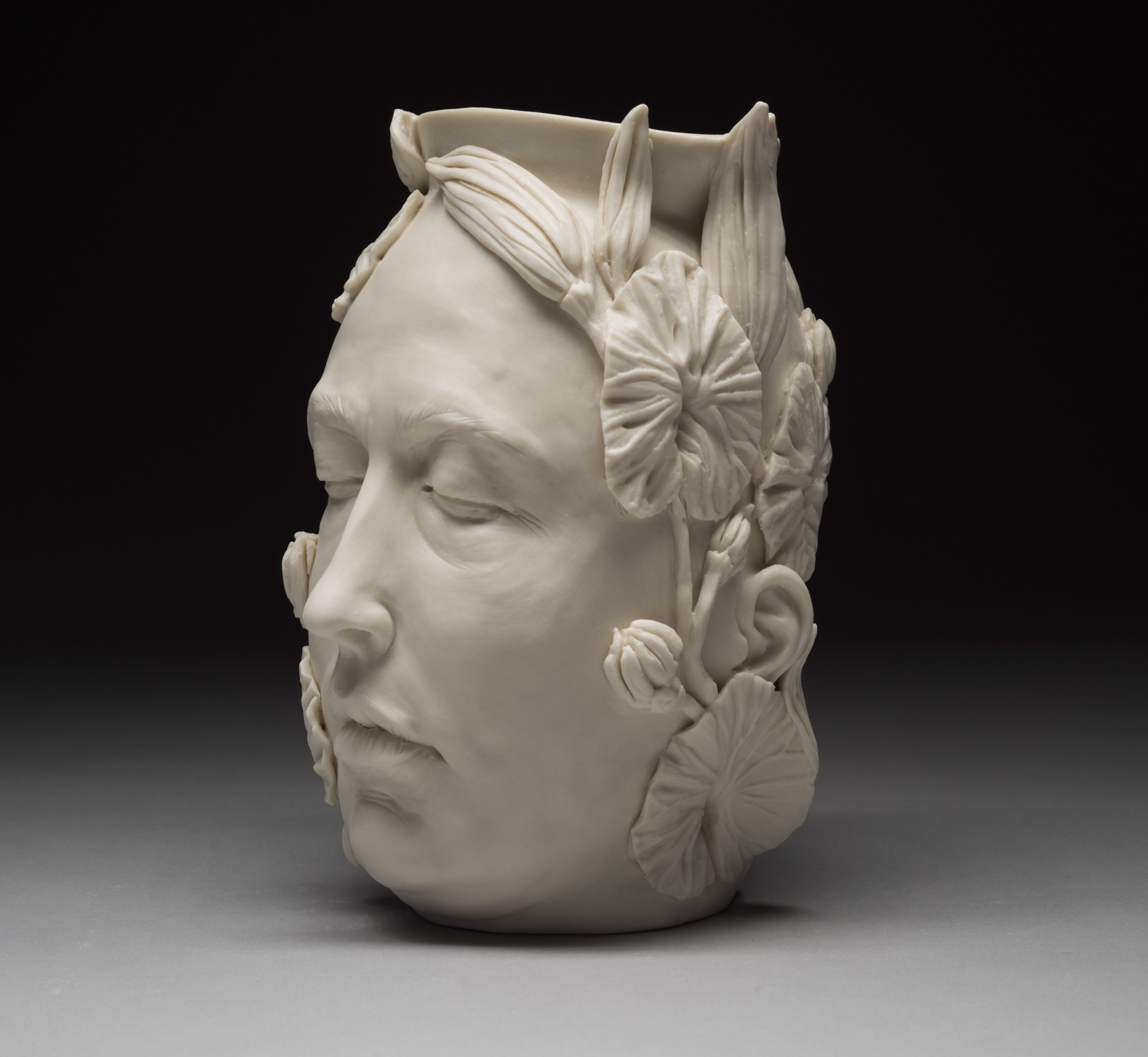 """""""Flora Vase with Eyes Closed"""" by Adrian Arleo"""