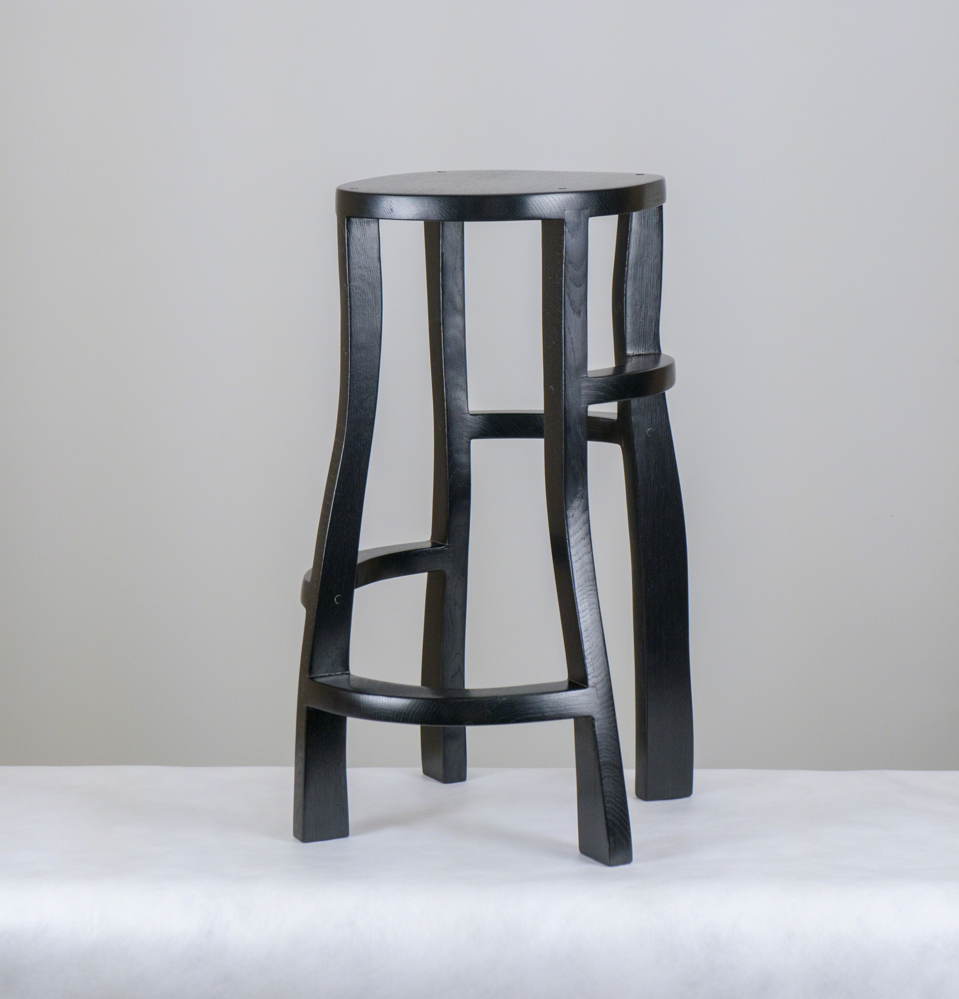""""""" Meanders""""  Bar stool  by Jacques Jarrige"""