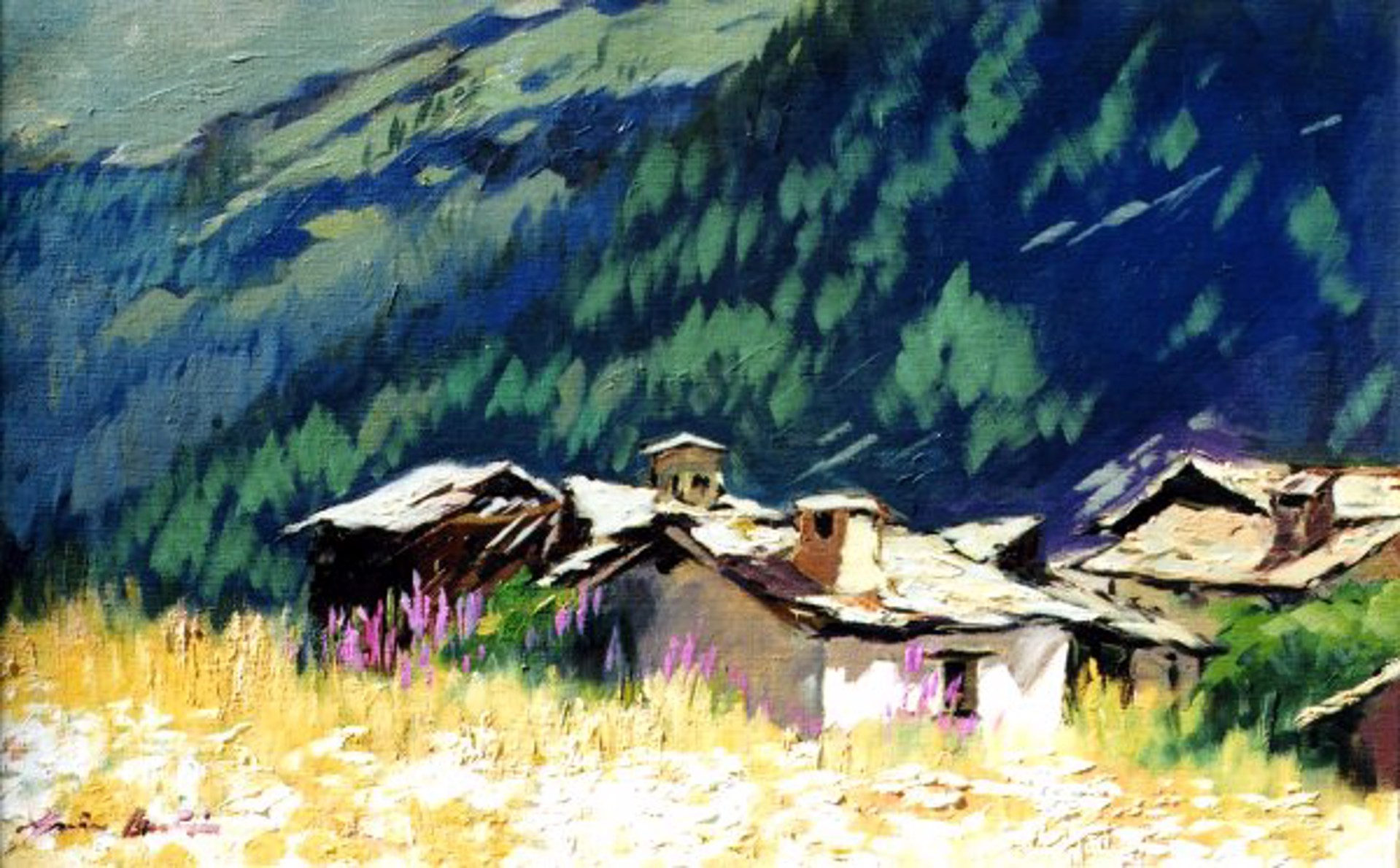 Bertran: Old Alpine Cabins by Maria Bertrán