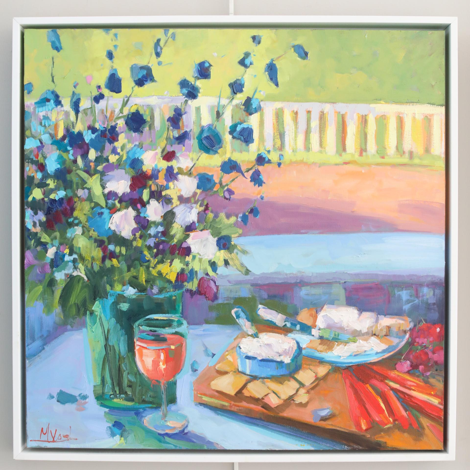 Happy Hour On The Vineyard by Marissa Vogl