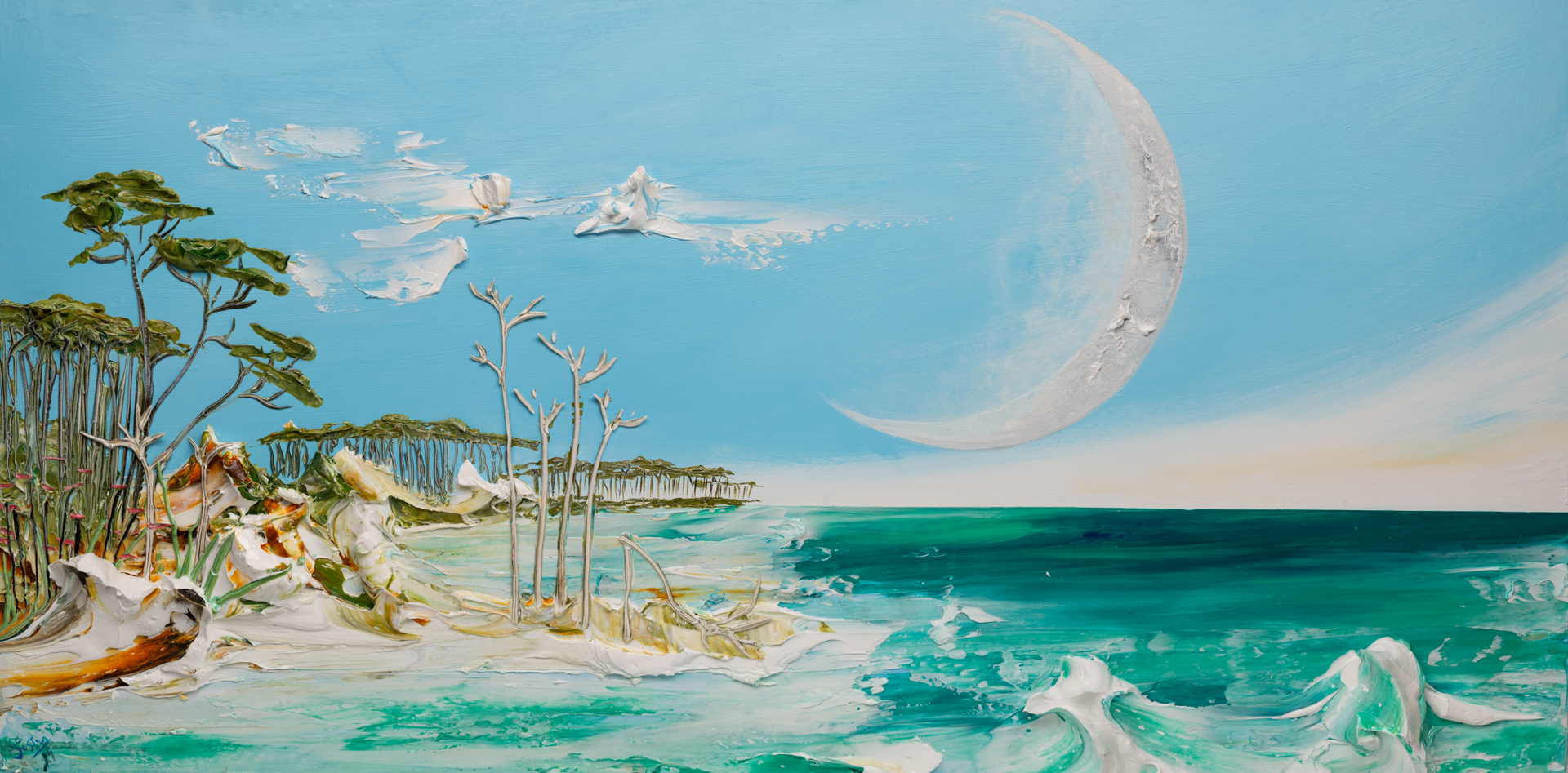 MOONSCAPE MS-60X30-2019-300 by JUSTIN GAFFREY