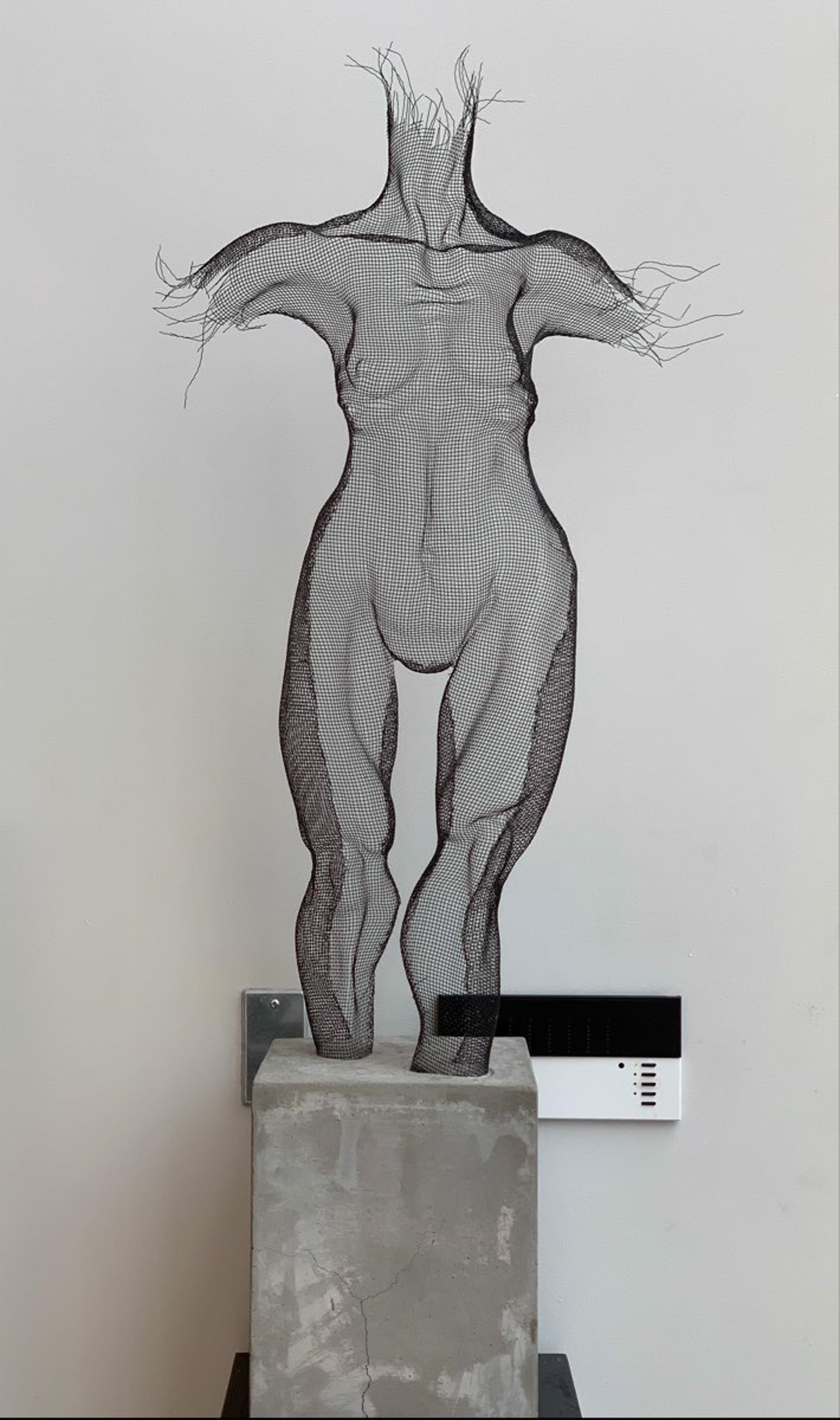 Under Construction Series -  Female Nude Anterior by Ofer Rubin