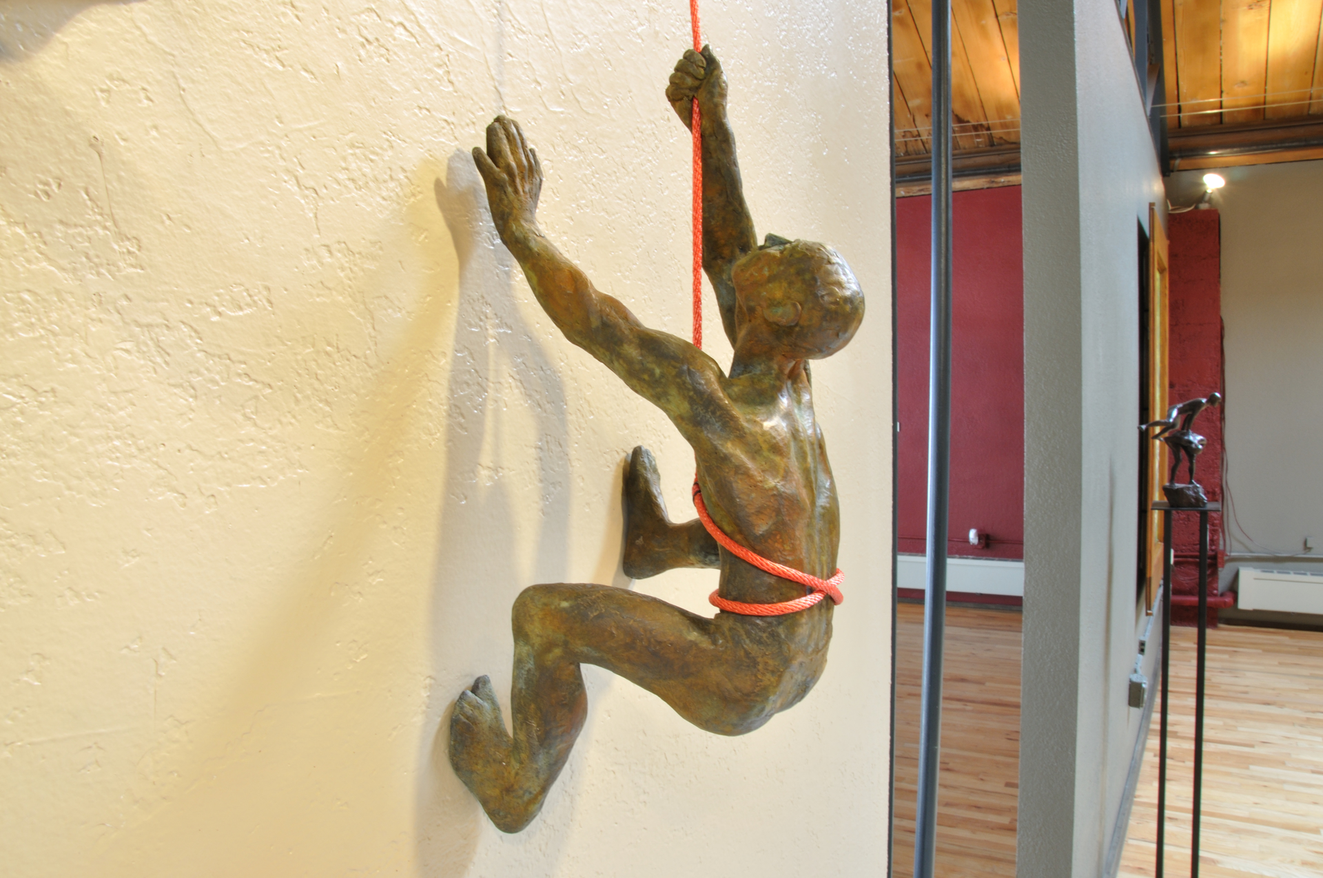 Climbers I by Bill Starke