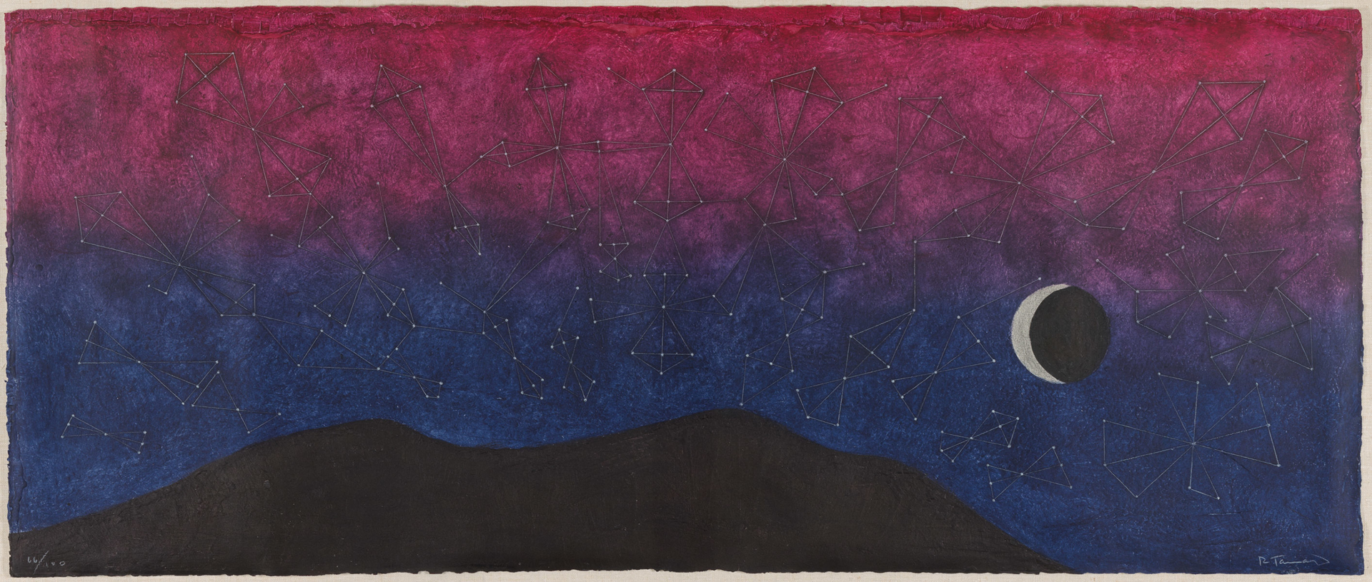 Galaxia by Rufino Tamayo (1899 - 1991)