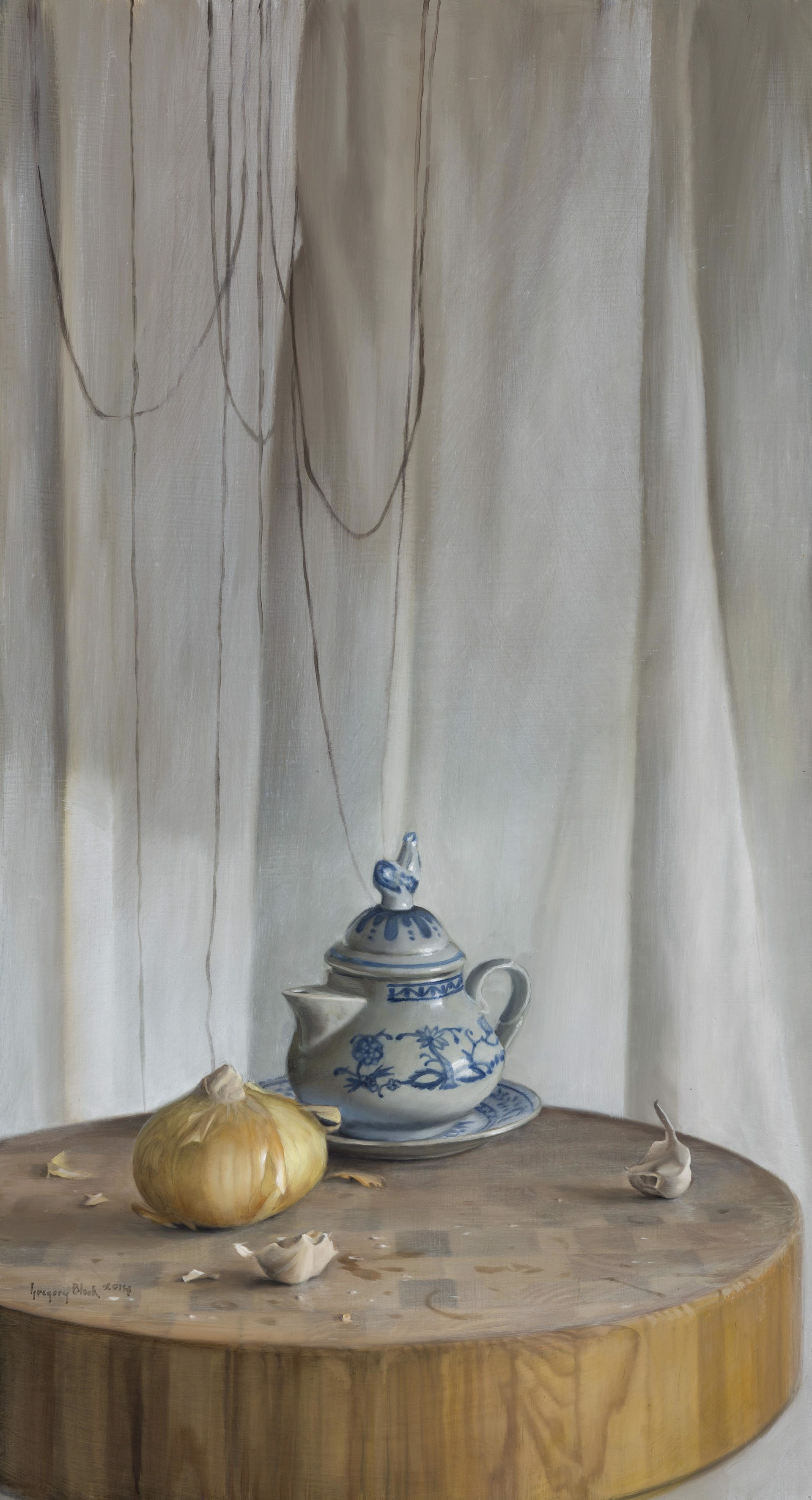 Onion and Teapot by Gregory Block
