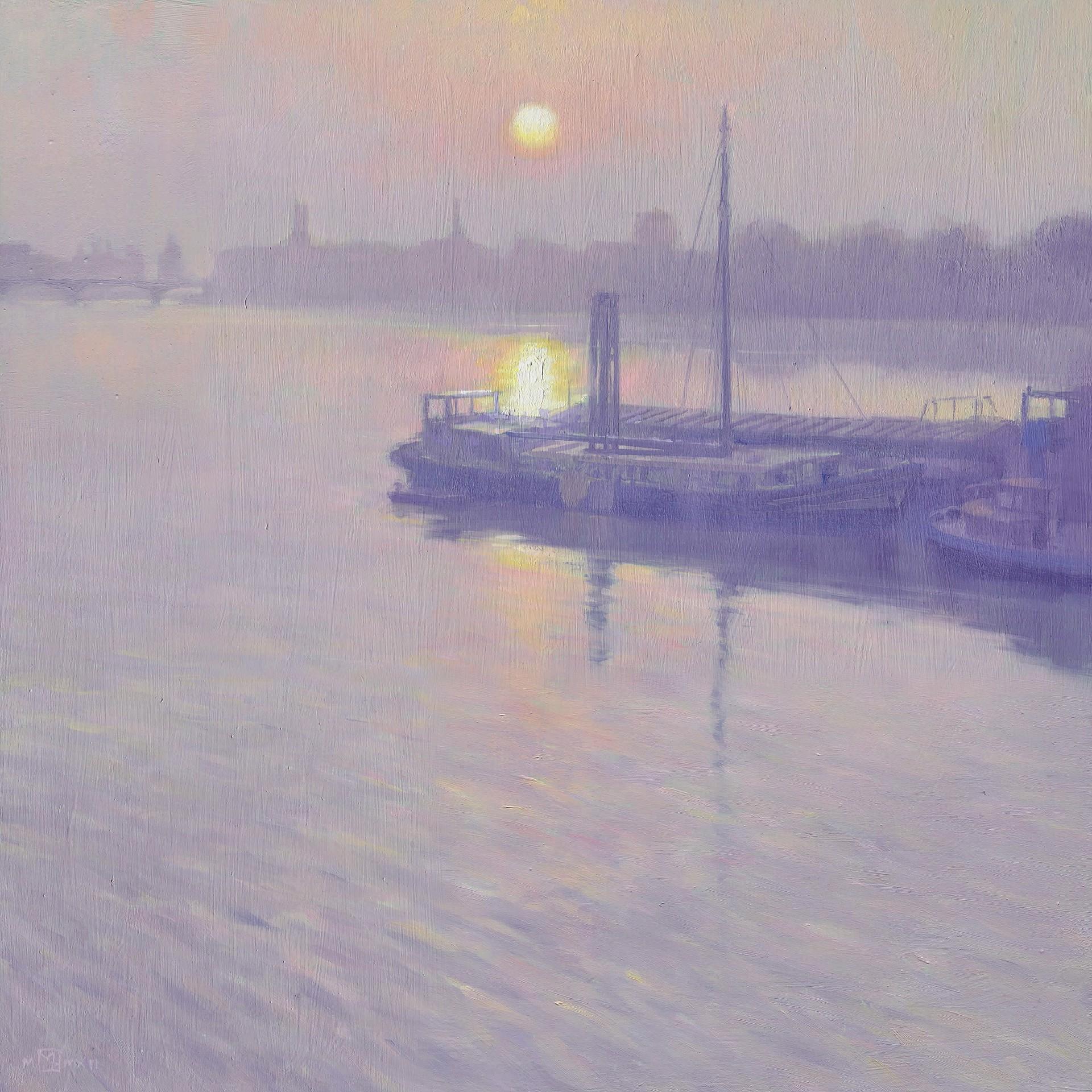 Battersea Sunrise  by Mark Harrison