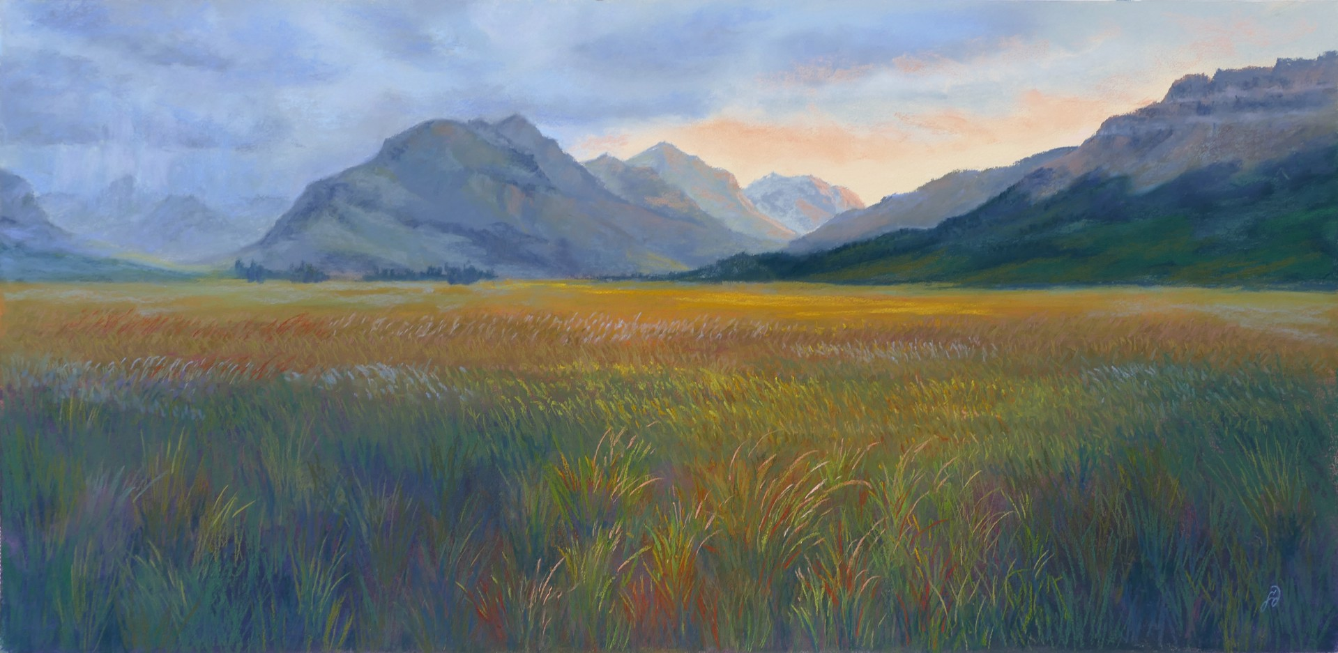 Whistling Grasses by Francesca Droll