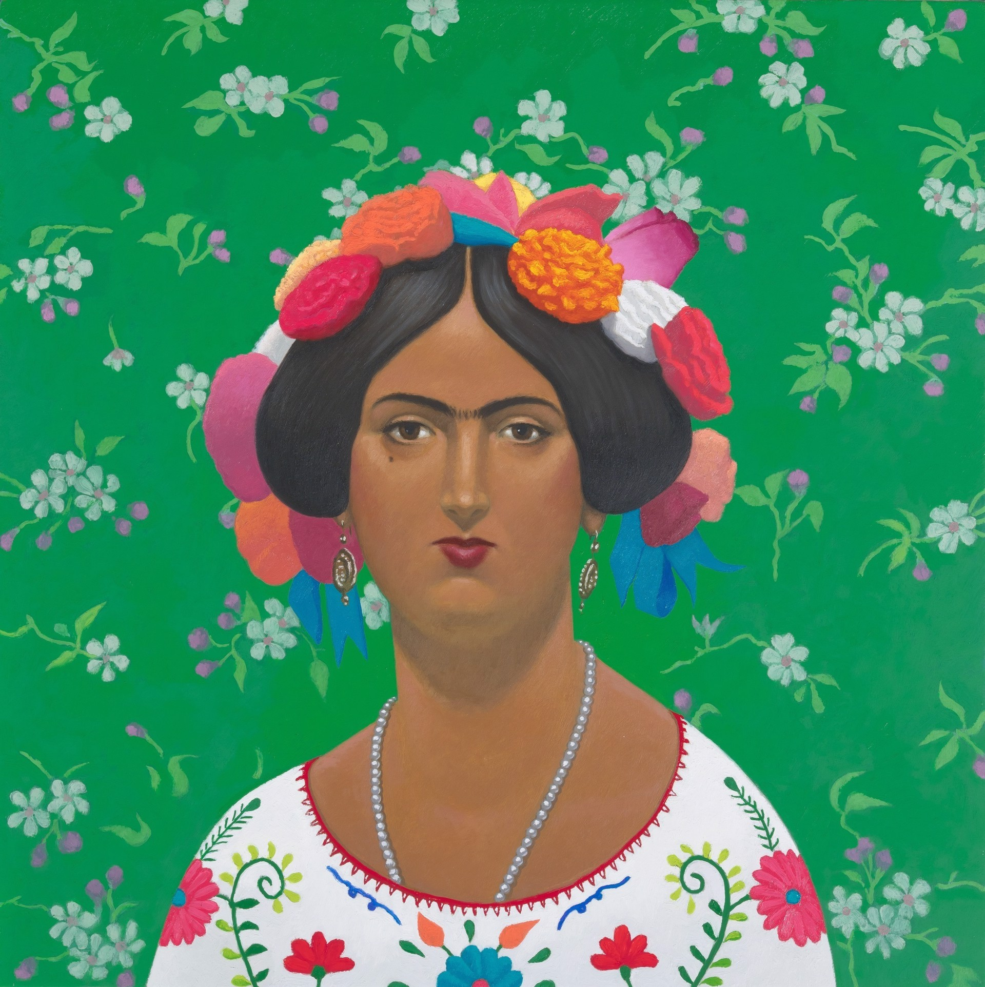 El Ingres-Frida (Appropriation of Culture) by Vonn Cummings Sumner