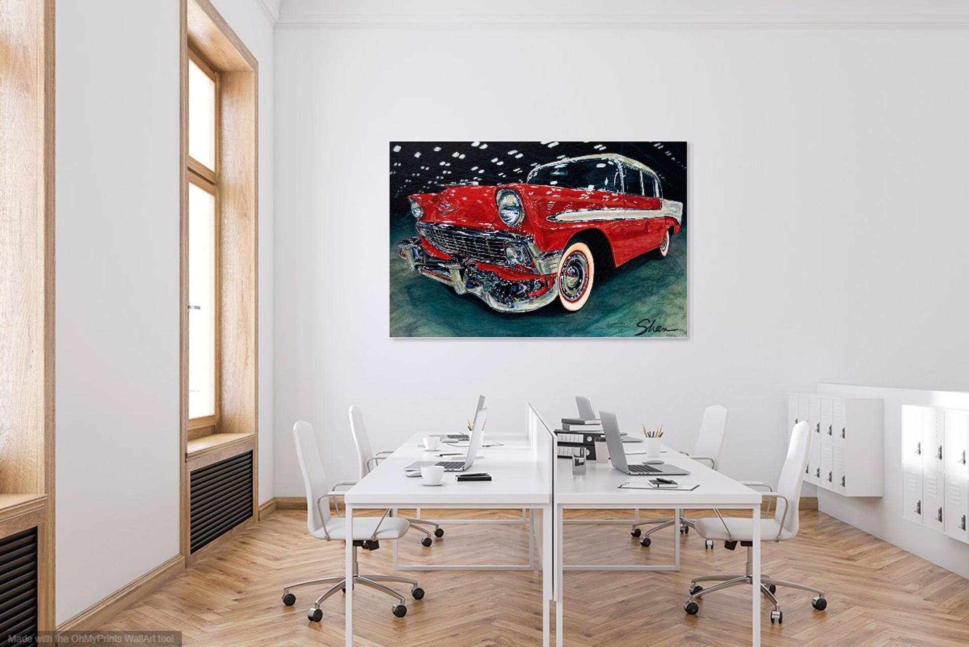 1956 Chevrolet Bel Air by Shan Fannin