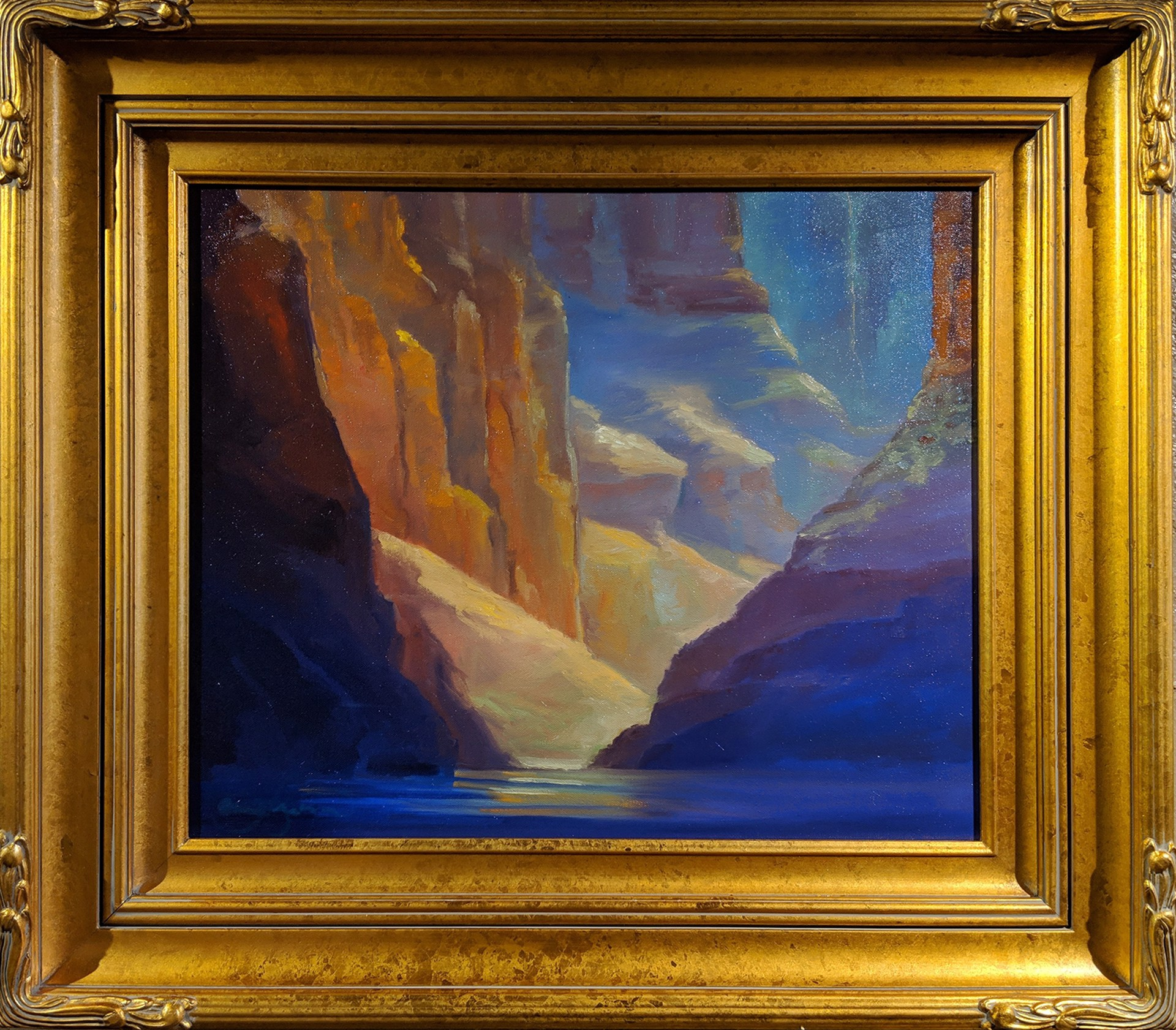 Canyon Stillness by Craig Freeman
