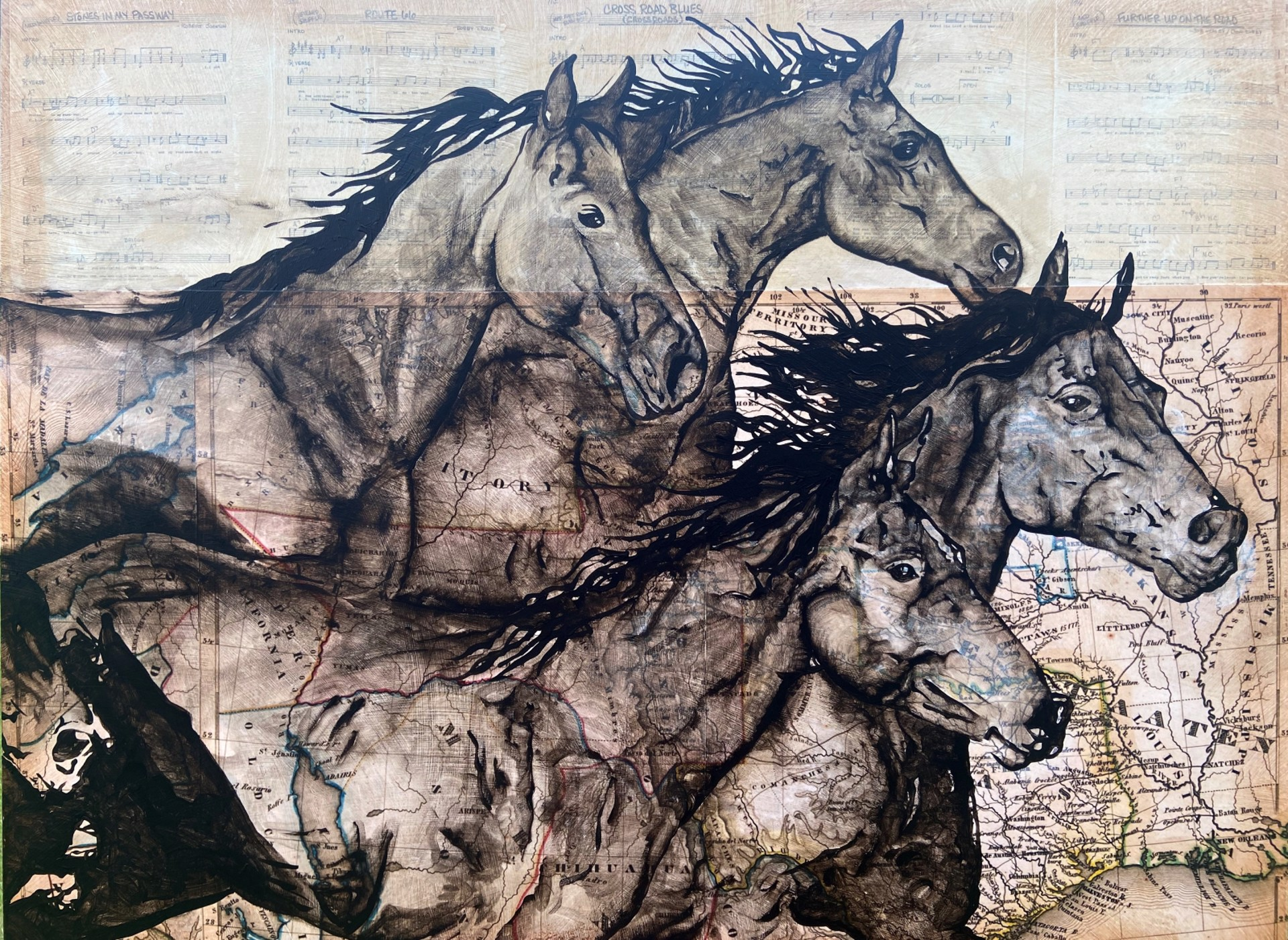 Wild Horses by Will Armstrong