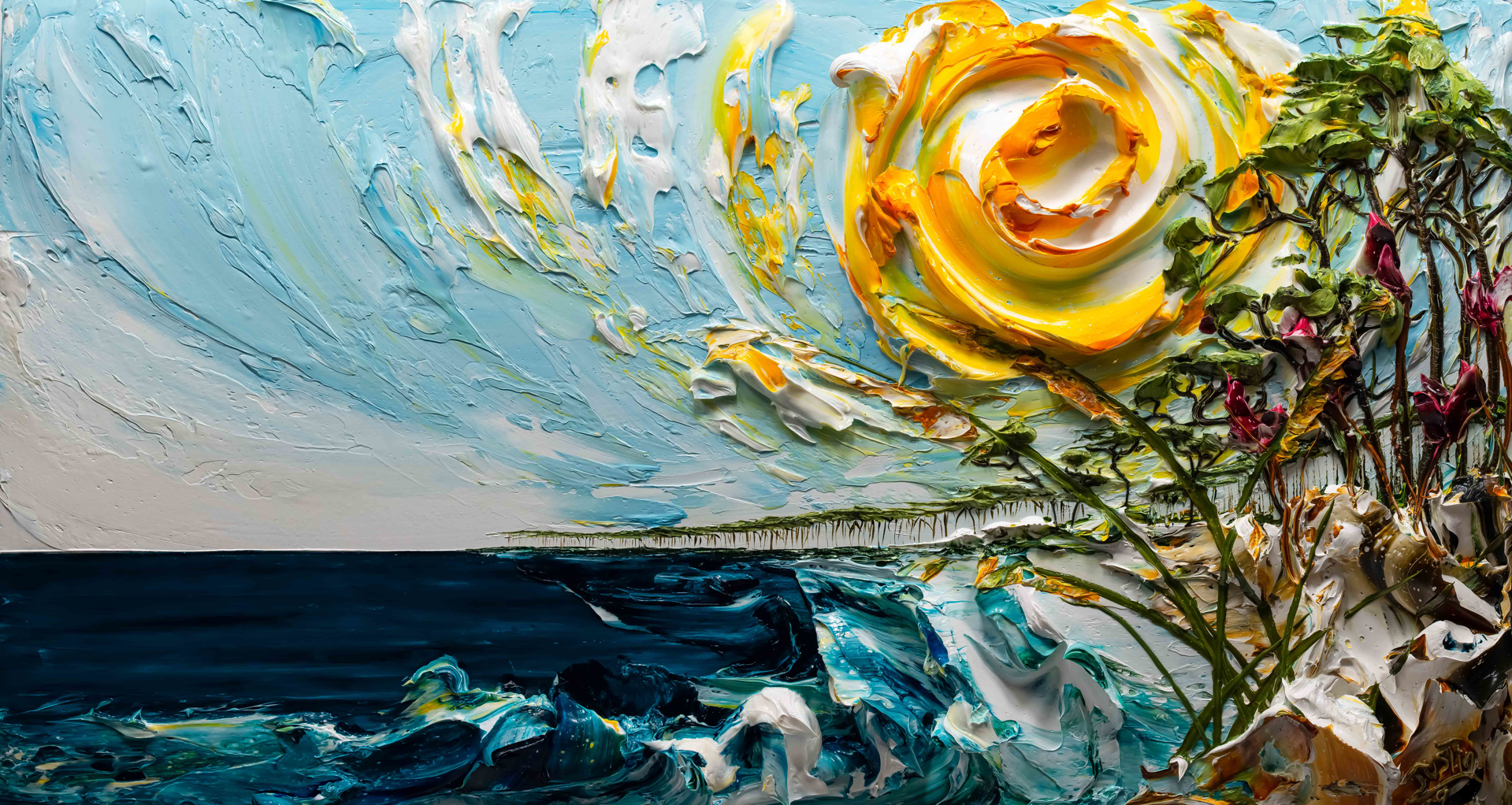 SEASCAPE-PROPS-SS-2019-60X32 by JUSTIN GAFFREY