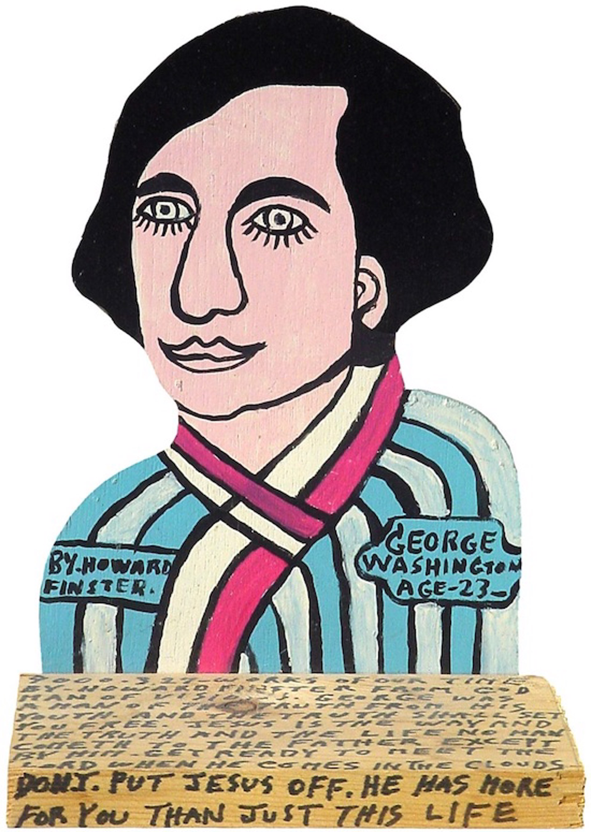 George Washington by Howard Finster