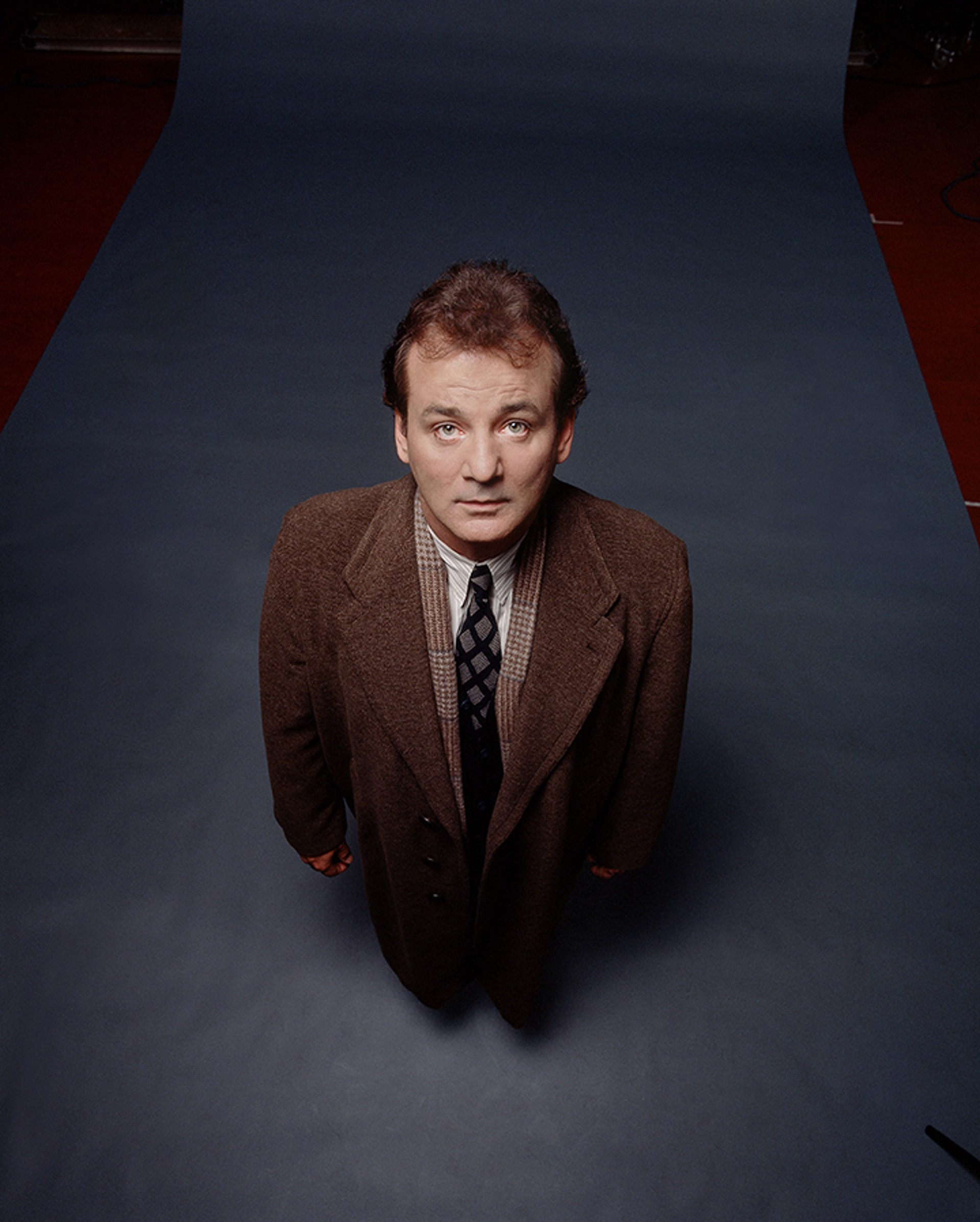 92126 Bill Murray Standing Color by Timothy White