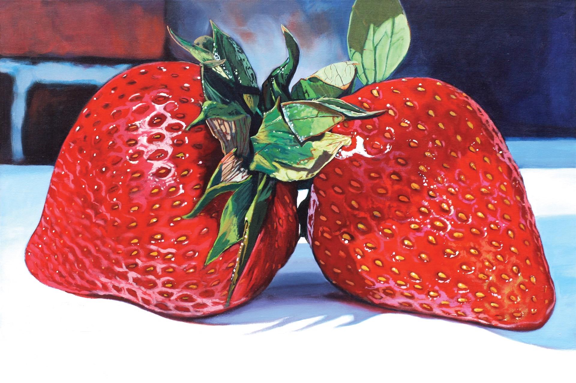 So Succulent Strawberries by Scott Hewett