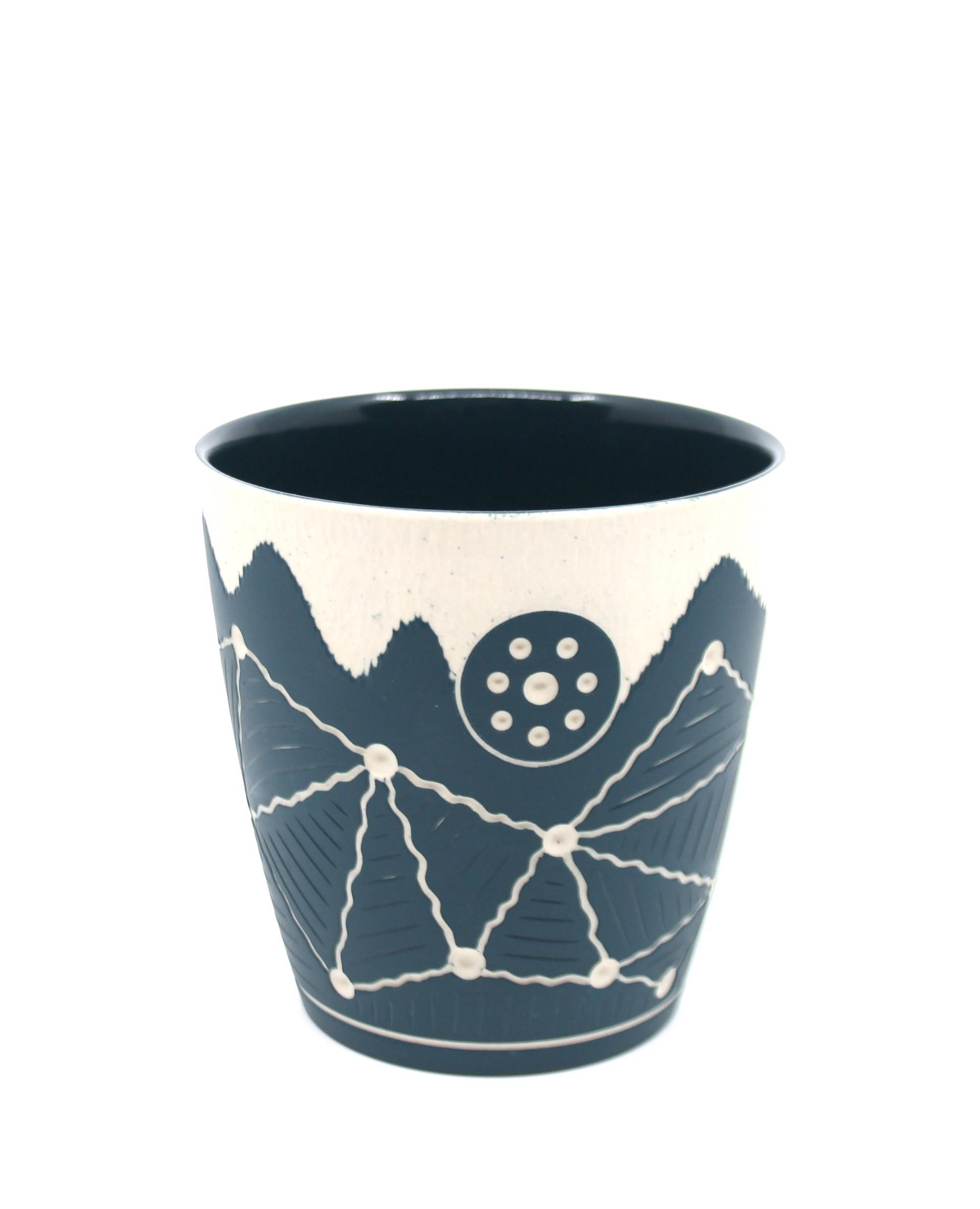 Dark Green Cup by Chris Casey