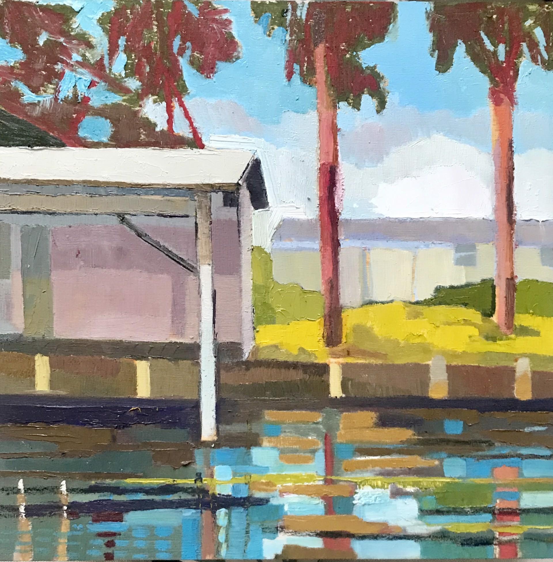 Coastal Waterway by Maggie Shepherd