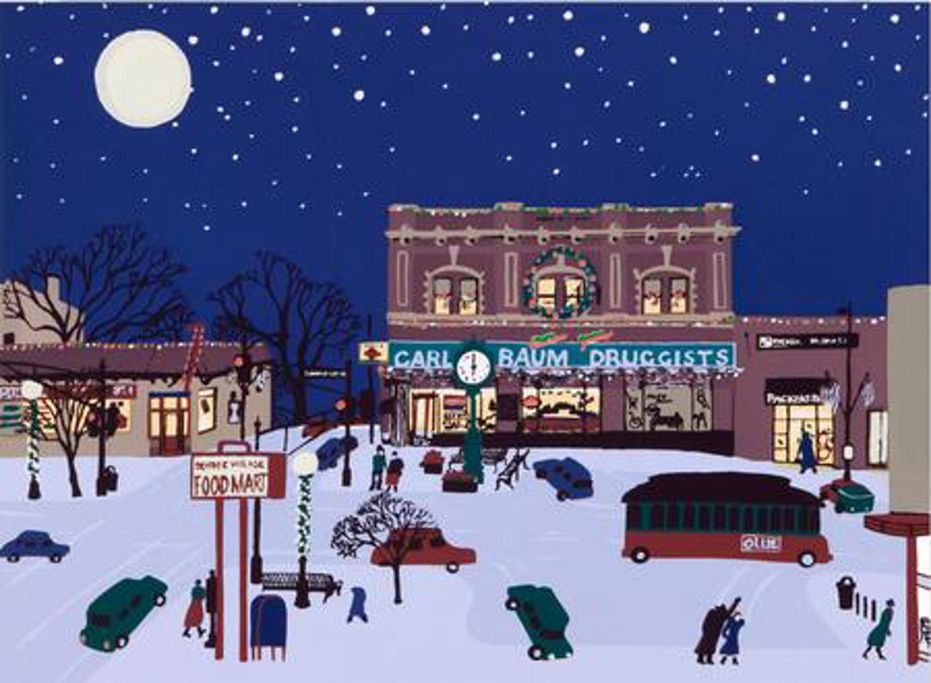 50th & Underwood, Baum Drugstore by Judith Welk
