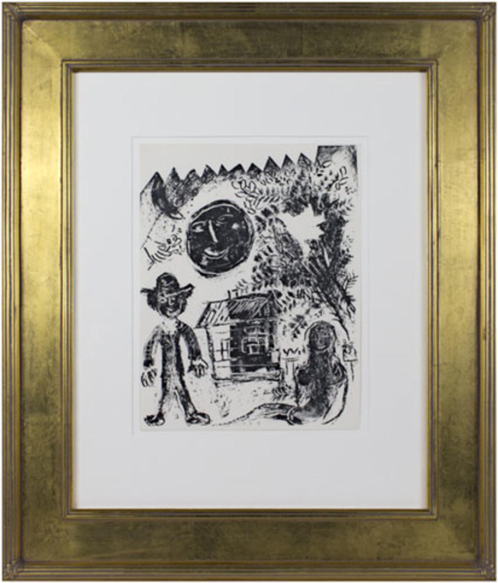 Black Moon M293 by Marc Chagall