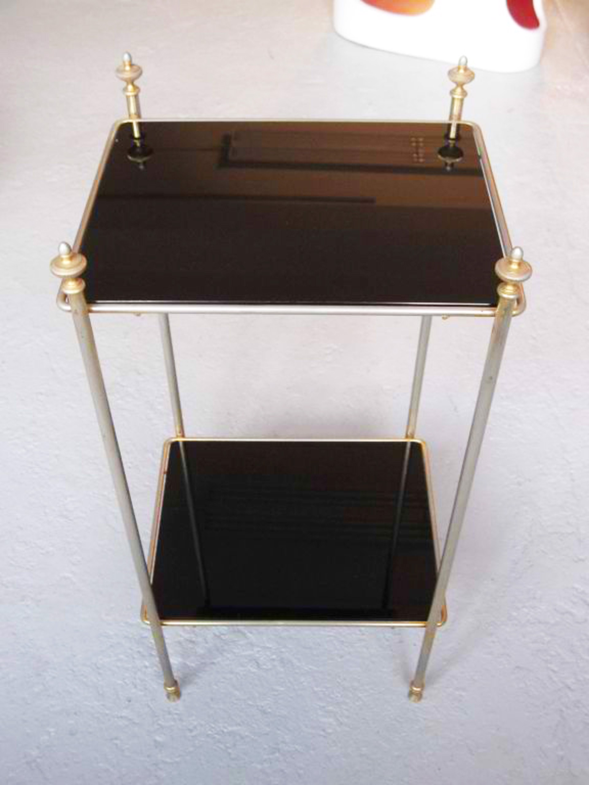Side tables manner of  Jansen by Vintage Jansen