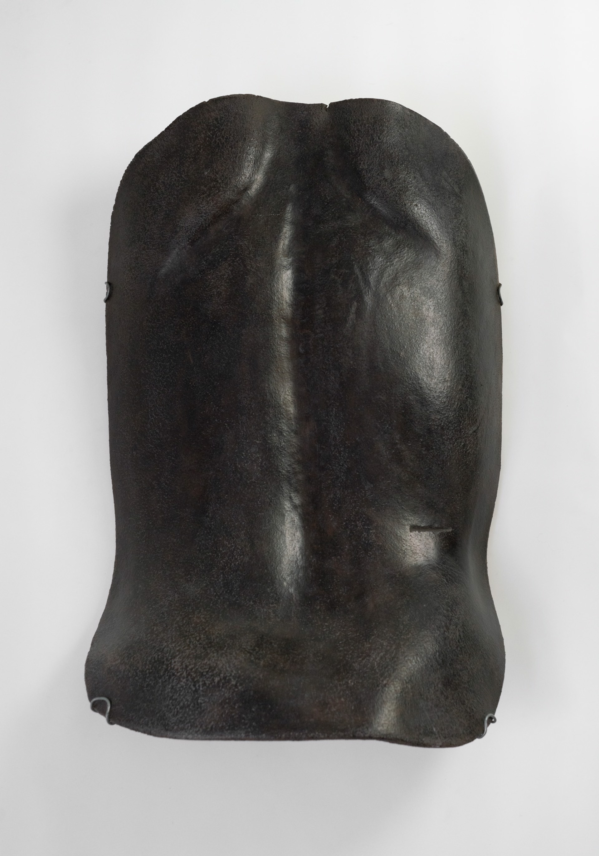 """Great Black Torso"" Wall sculpture by Claire de Lavallee"