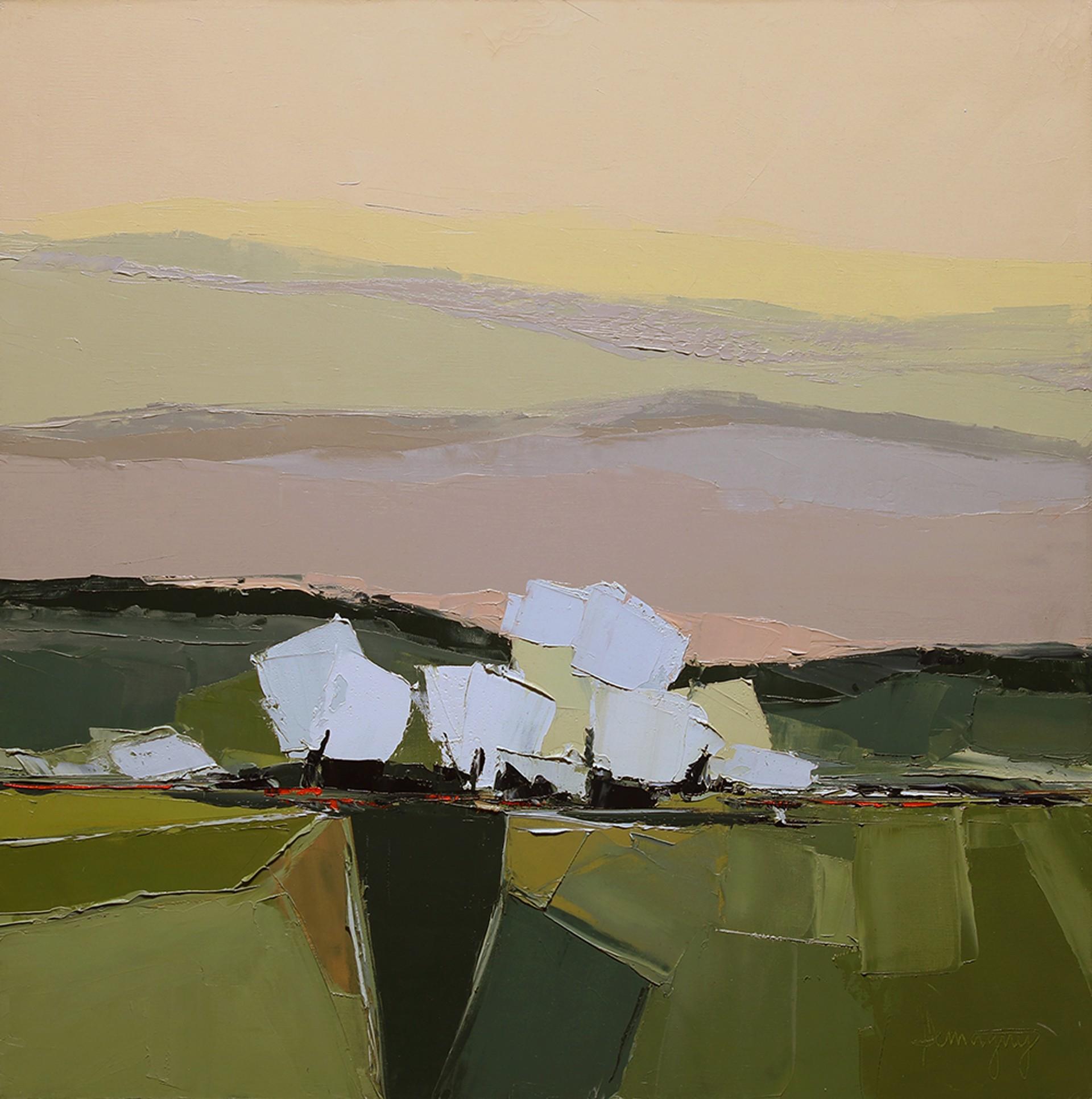 Les Arbres Blancs by Marcel Demagny