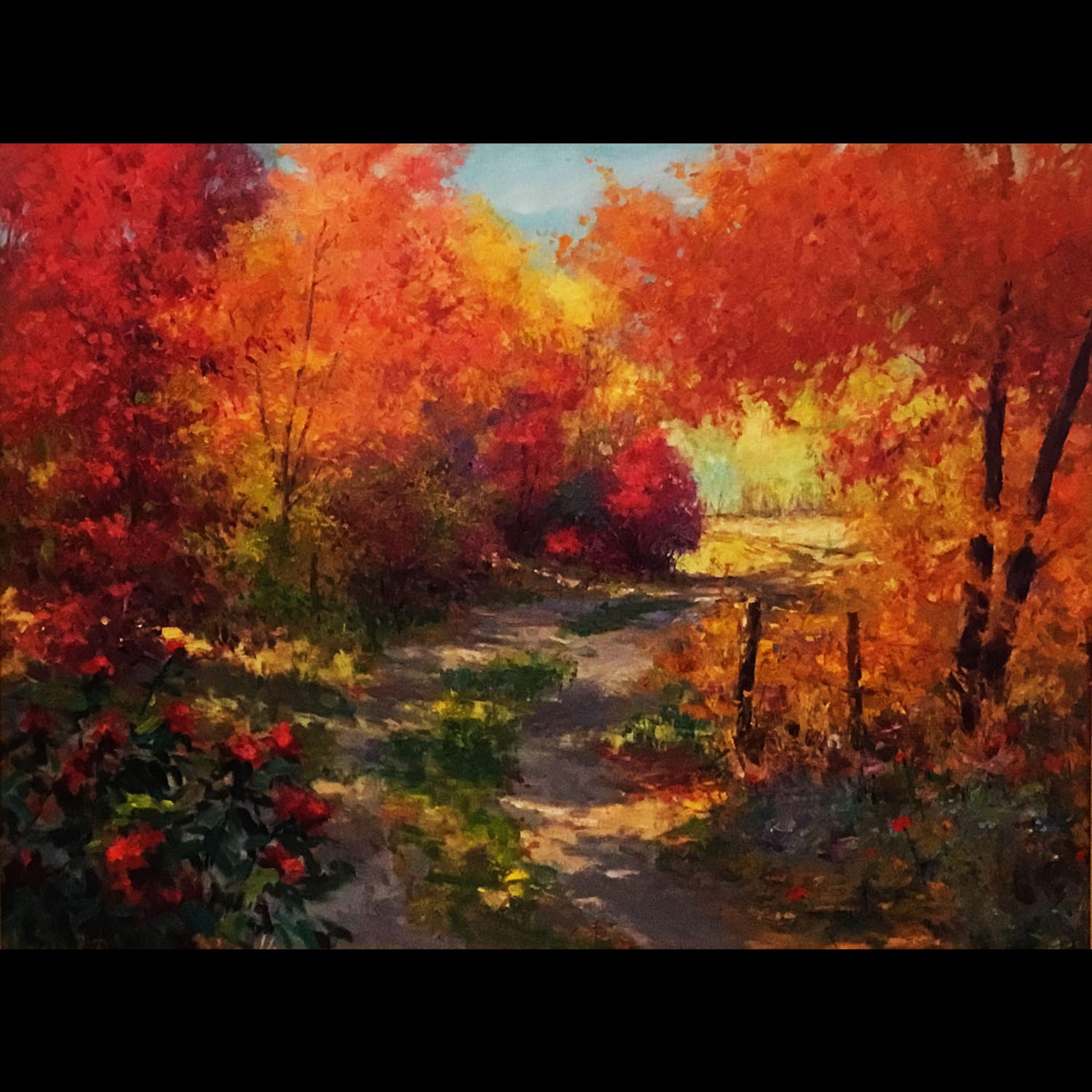 Gate to the Ranch by Eric Wallis