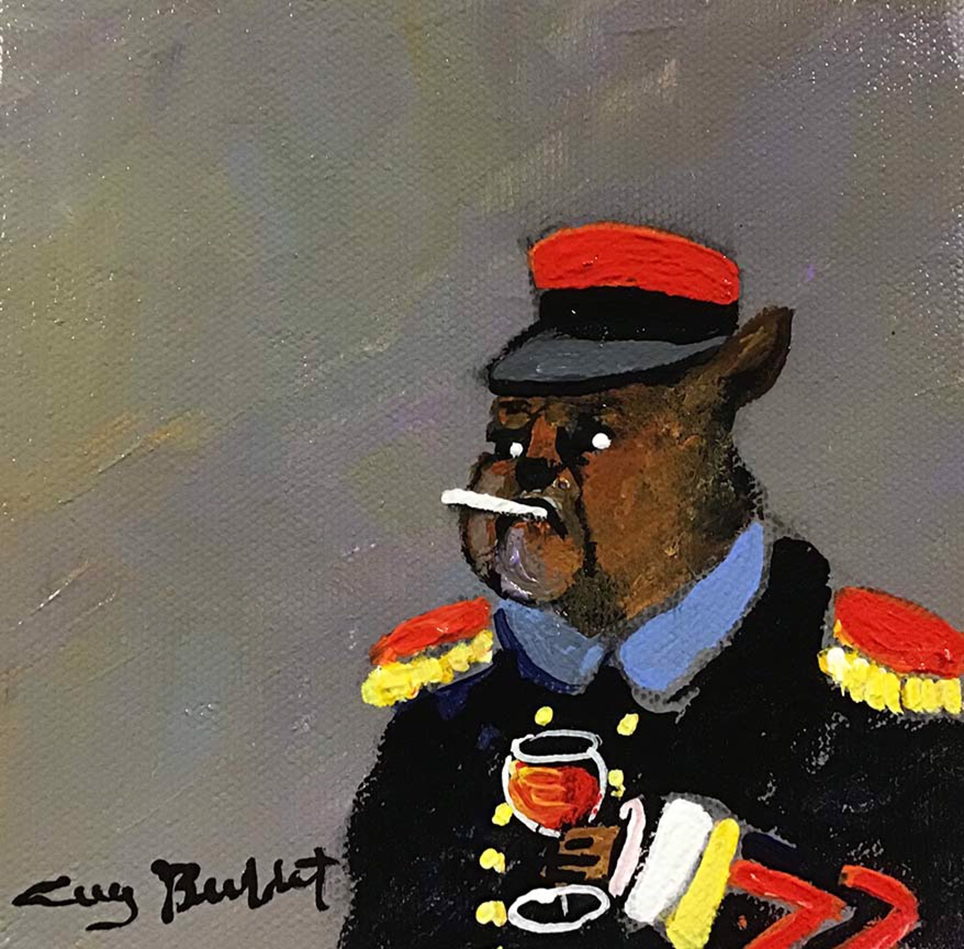 FRENCH SOLDIER by Guy Buffet