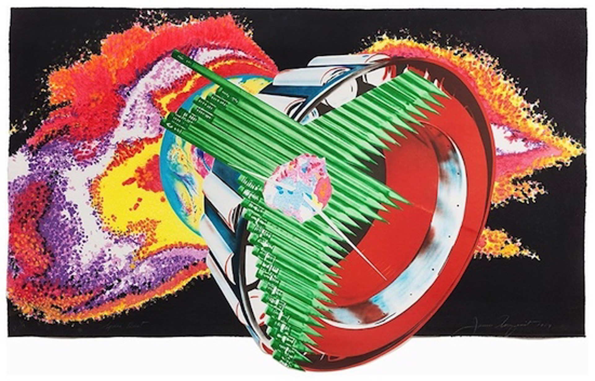 Space Dust by James Rosenquist