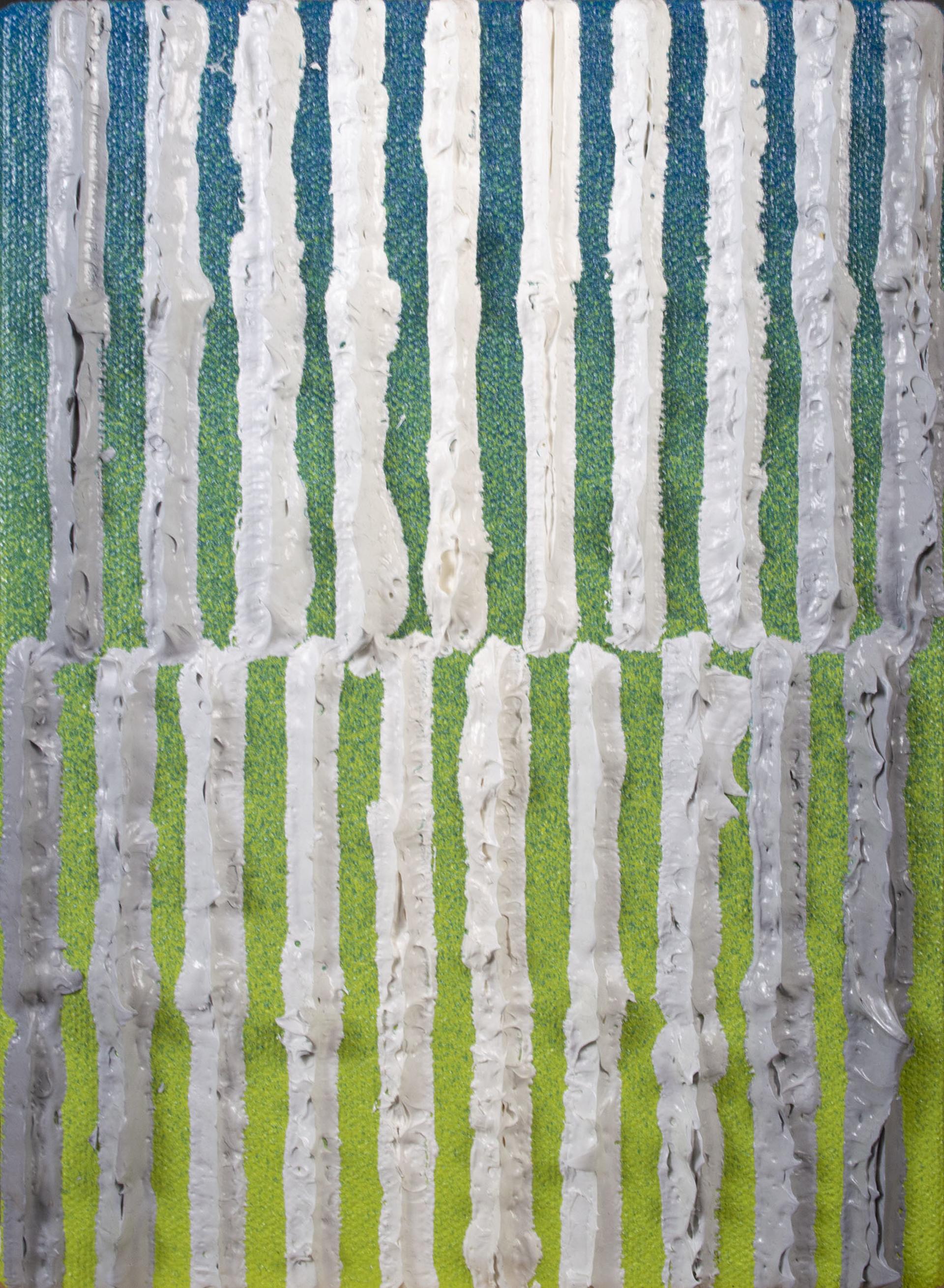 Grey on Green by Daniel Klewer