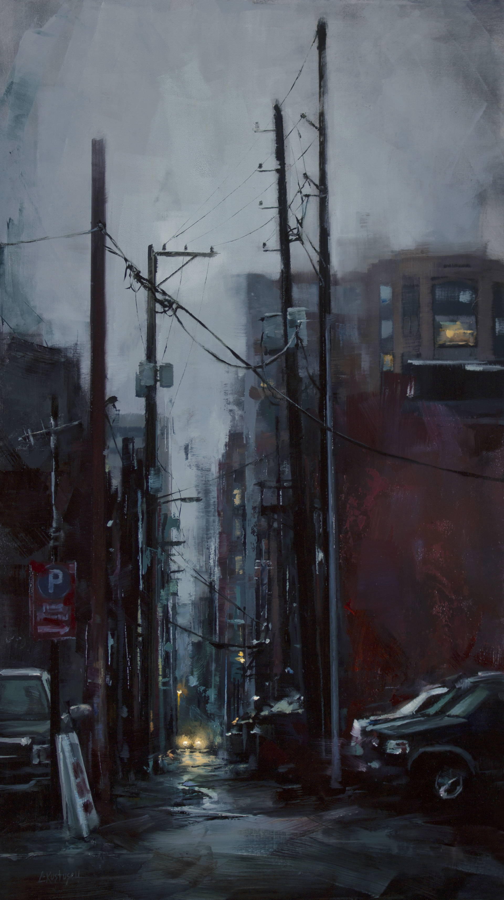 On Foot in the City by Lindsey Kustusch