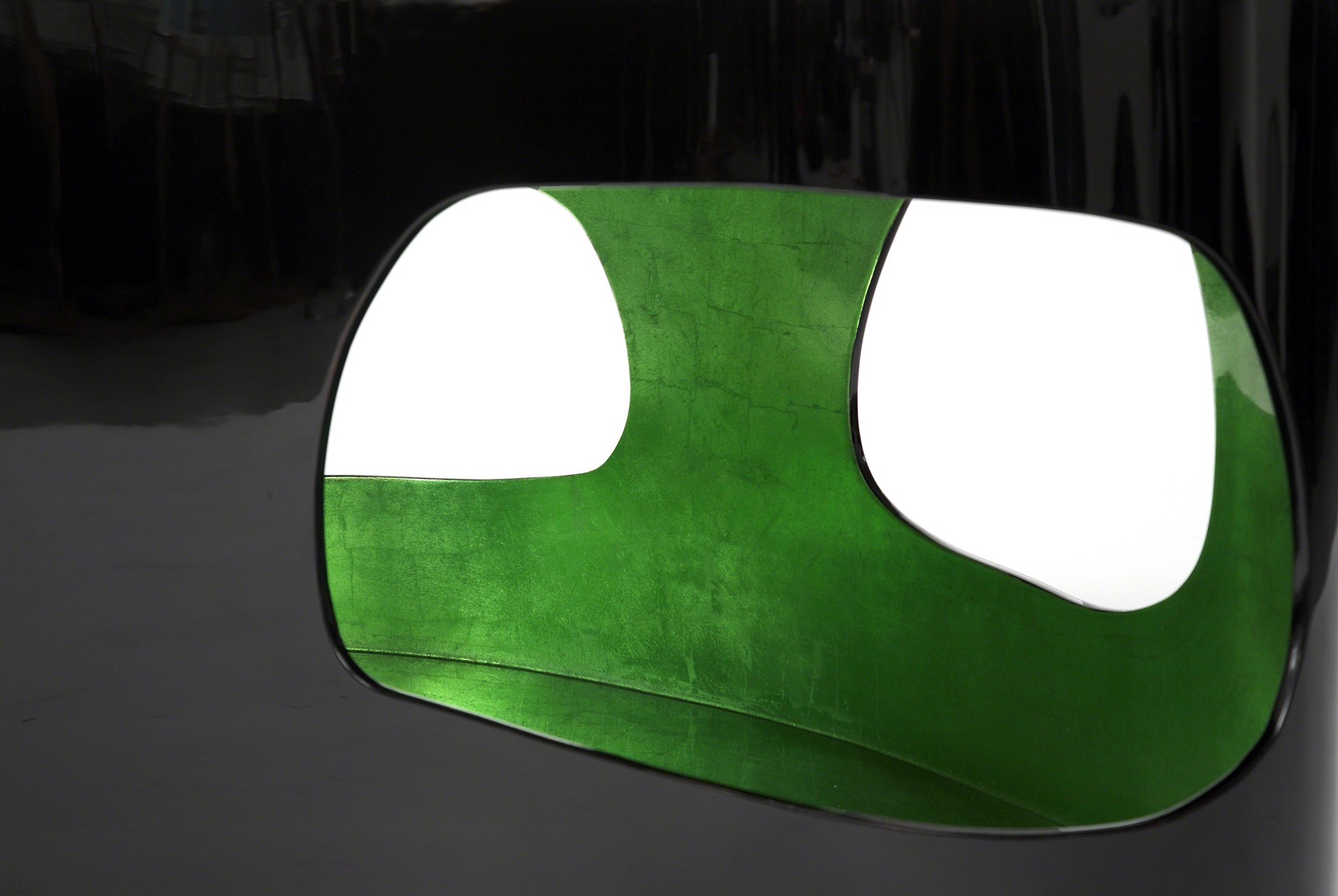 """""""Cloud"""" Coffee Table with Green by Jacques Jarrige"""