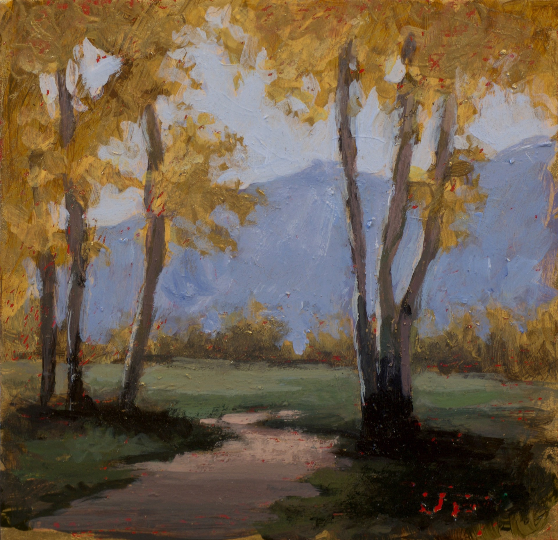 Aspen Golds by Jane Hunt