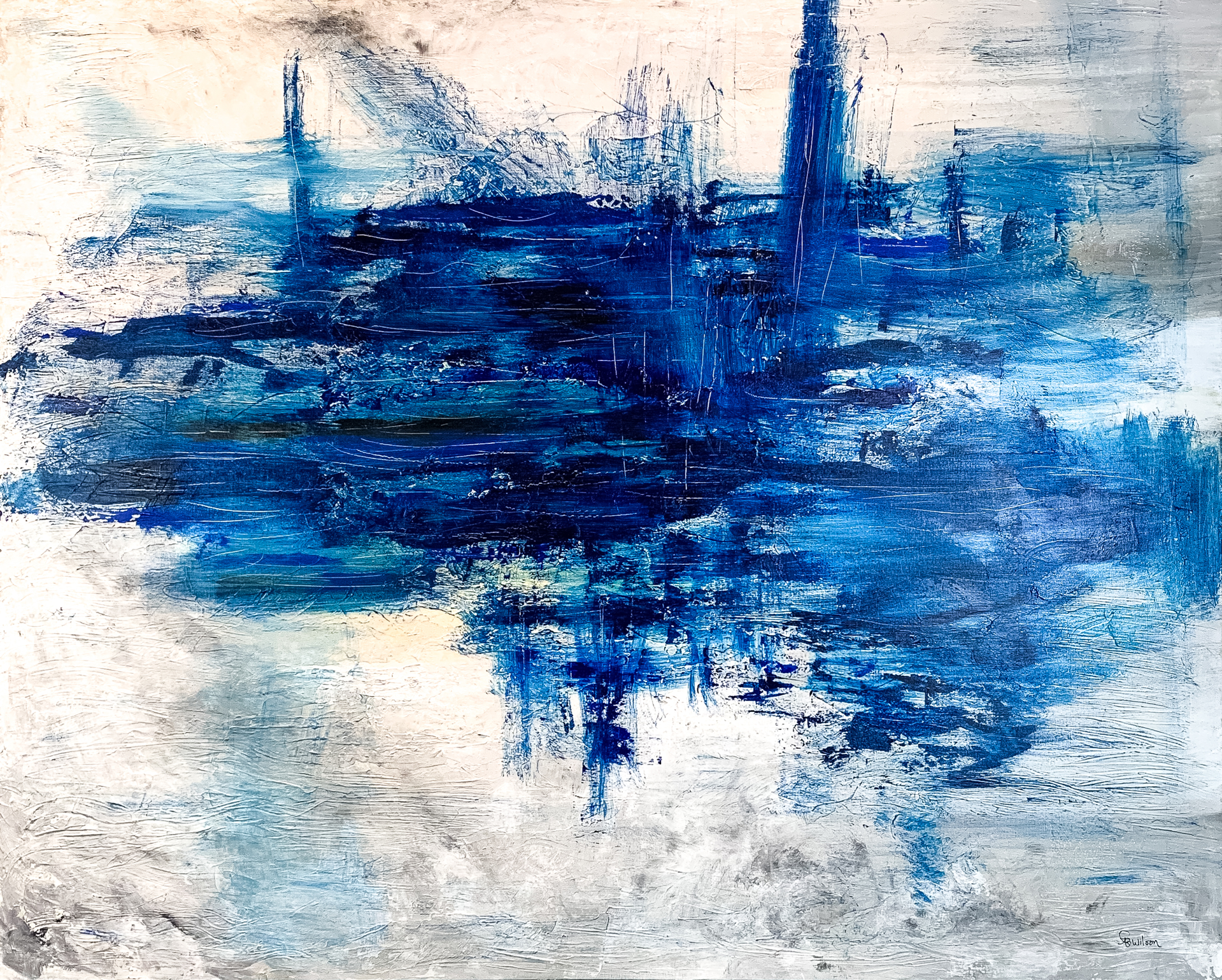 Splash of Blue by Patty Wilson